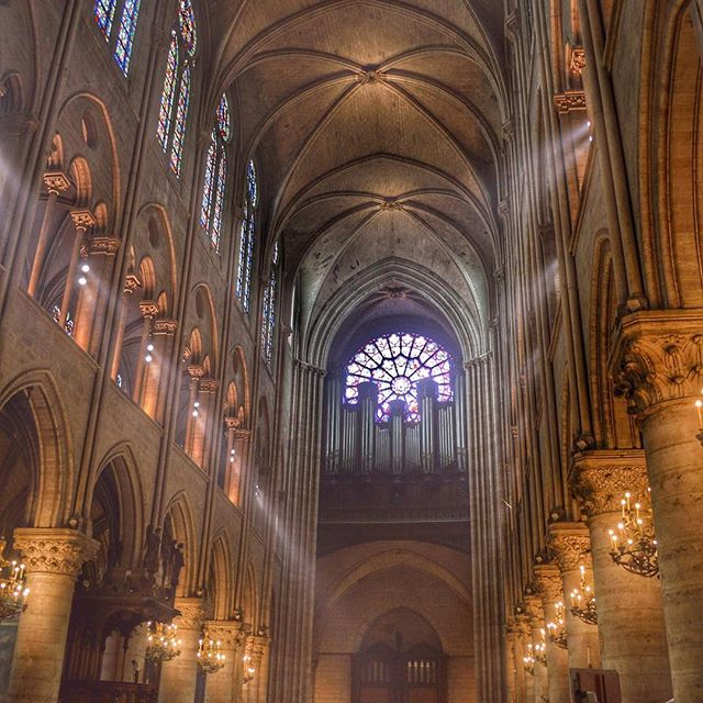 Notre-Dame Cathedral 2012. My heart is saddened by the massive destruction this treasure suffered today. #notredame