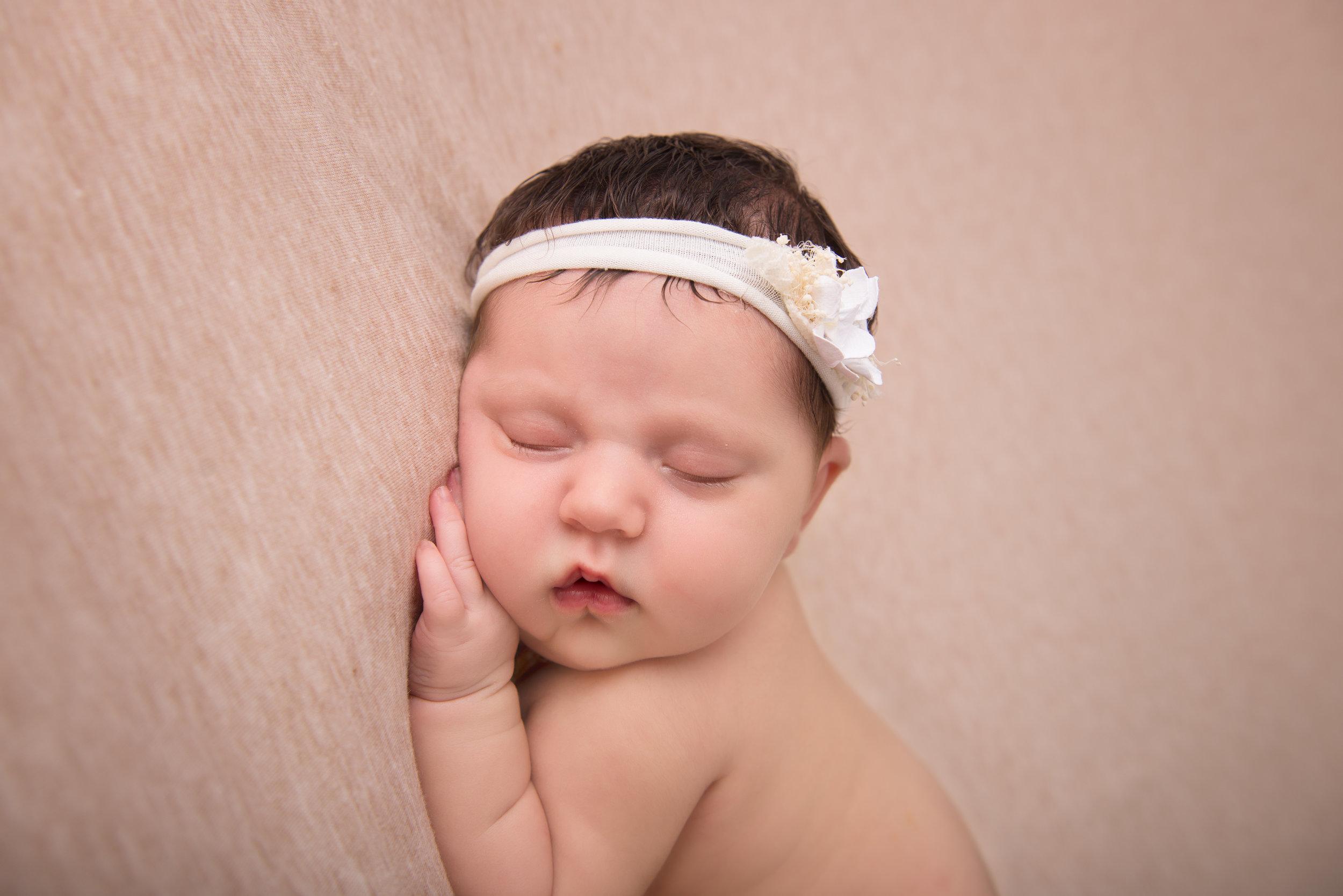 """She did amazing with my stubborn newborn!"" - Holly Richmond"