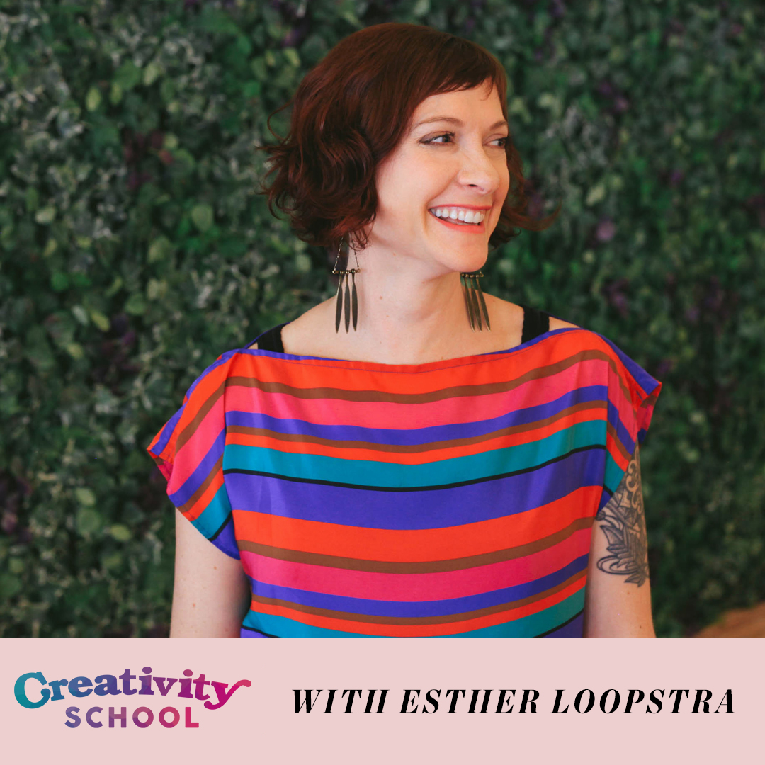 Lesson 04: Becoming More Creative USING YOUR INTUITION - With Esther Loopstra