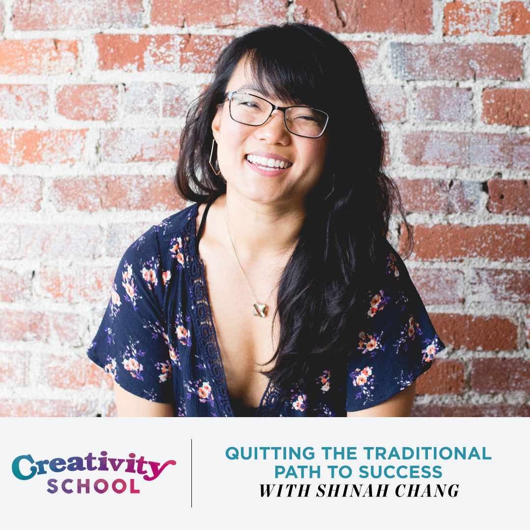Lesson 02 - Shinah Chang   How an unhappy lawyer with a Harvard degree became a badass calligrapher.  January 7th 2019