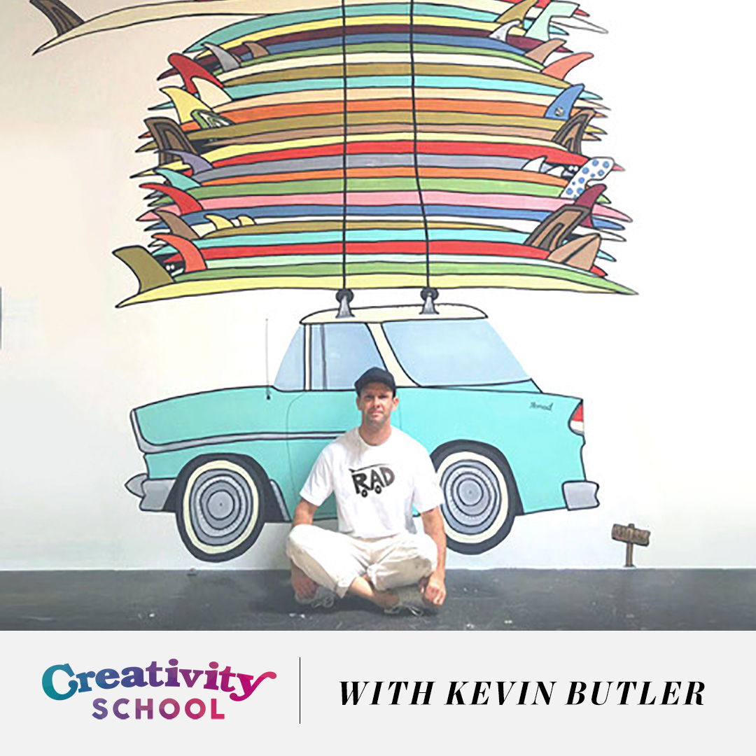 Lesson 09: How a creative director started a side project purely for HIS HAPPINESS, and transformed IT into more - With Kevin Butler