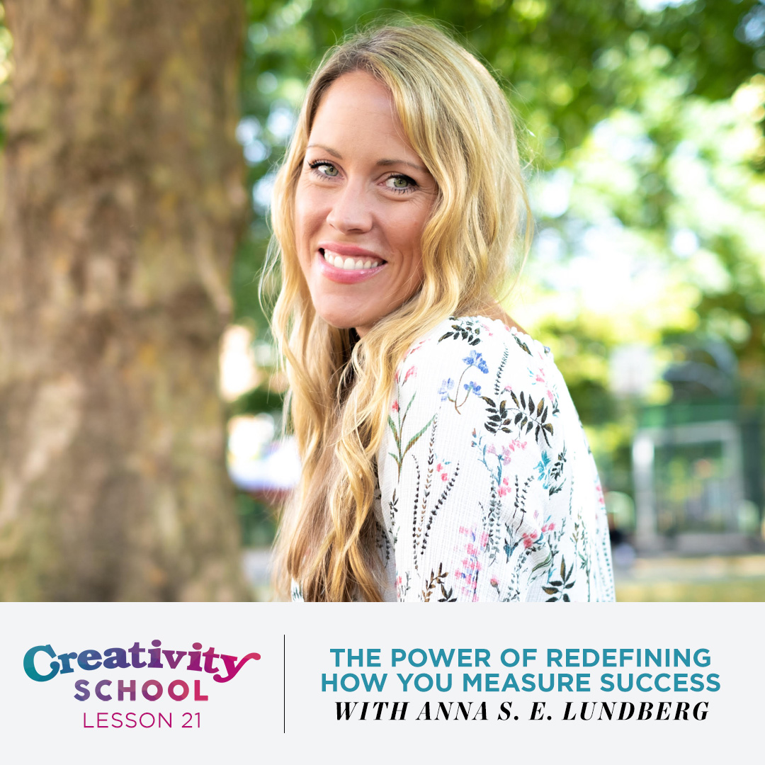 Lesson 21 - Anna S.E. Lundberg   How to reimagine the meaning of success beyond recognition, wealth and status and create a life of true fulfillment with success coach and strategist Anna S.E. Lundberg.   May 27th 2019
