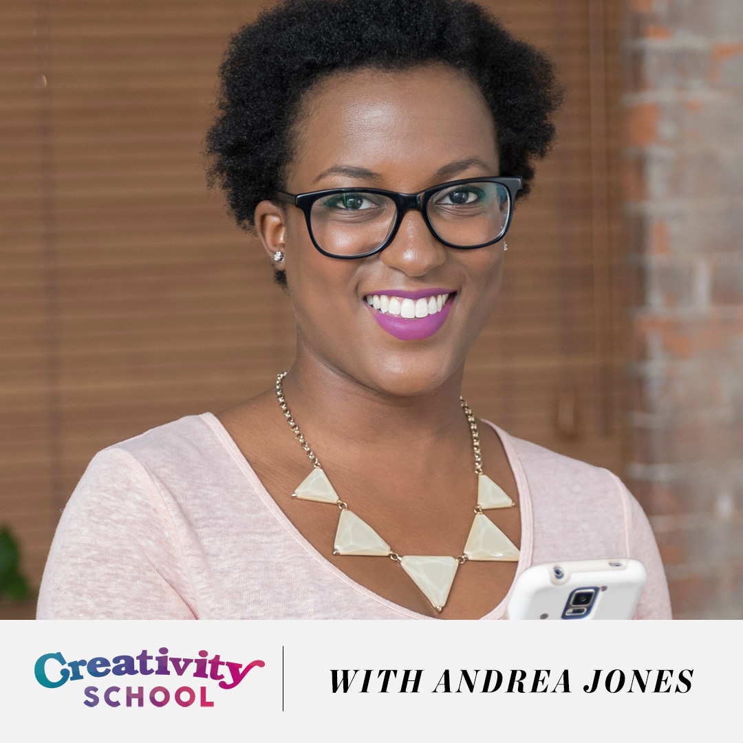How to make social media less overwhelming and GROW An engaged following - with Andrea Jones