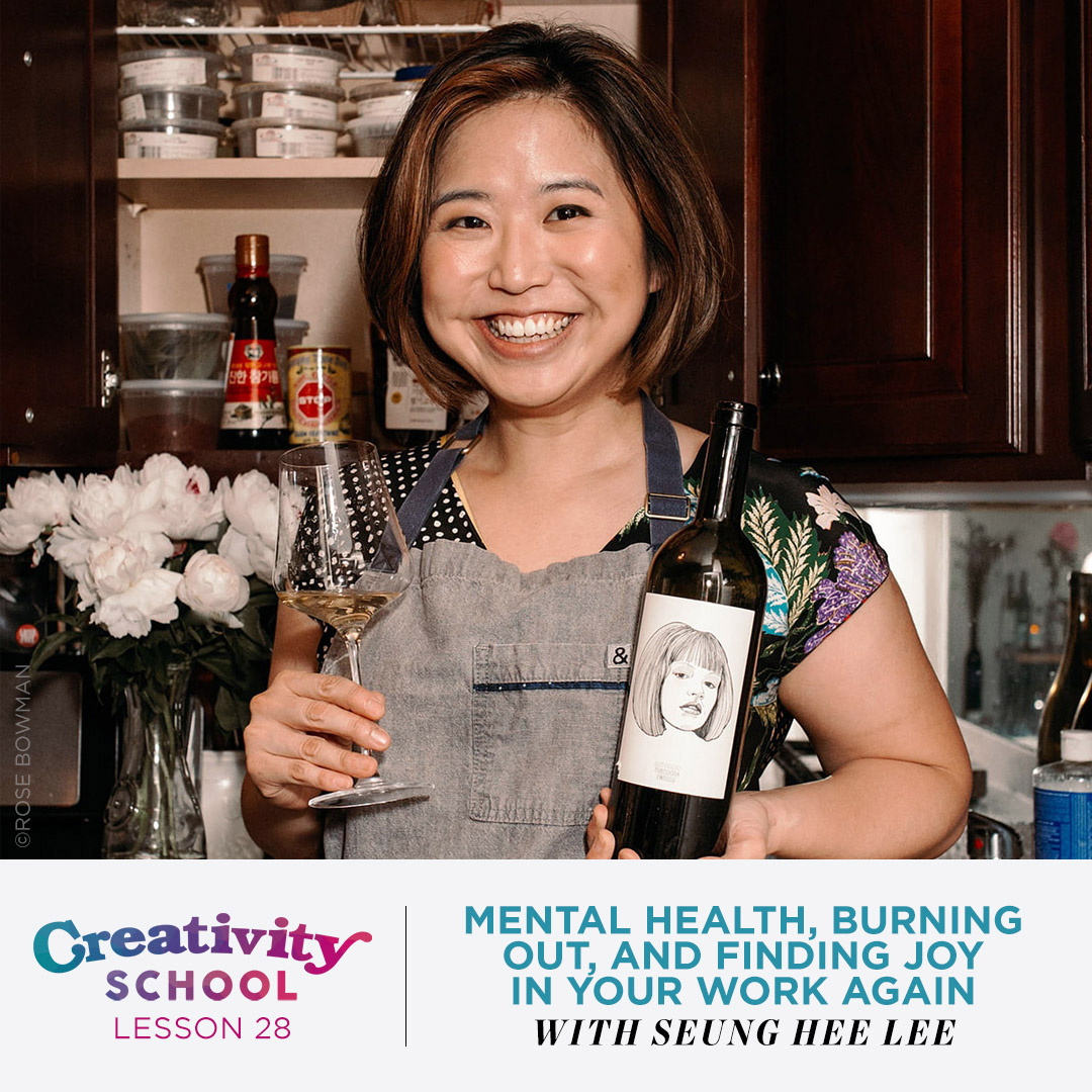 Lesson 28 - Seung Hee Lee   How to recover from burn out, overcome the expectations of others, and connect to your true happiness by finding joy in your work again with pop-up chef and author Seung Hee Lee.   July 15th 2019