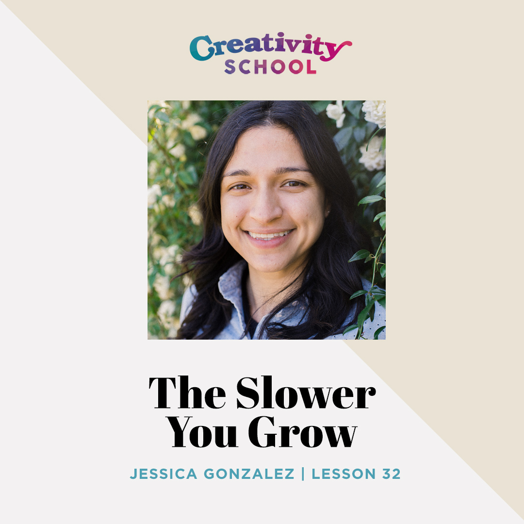 Lesson 32 - Jessica Gonzalez   How a burned out software developer unintentionally started a successful business as a beekeeper, and did it without the pressure to hustle, grind and grow it as quickly as possible.   August 12th 2019