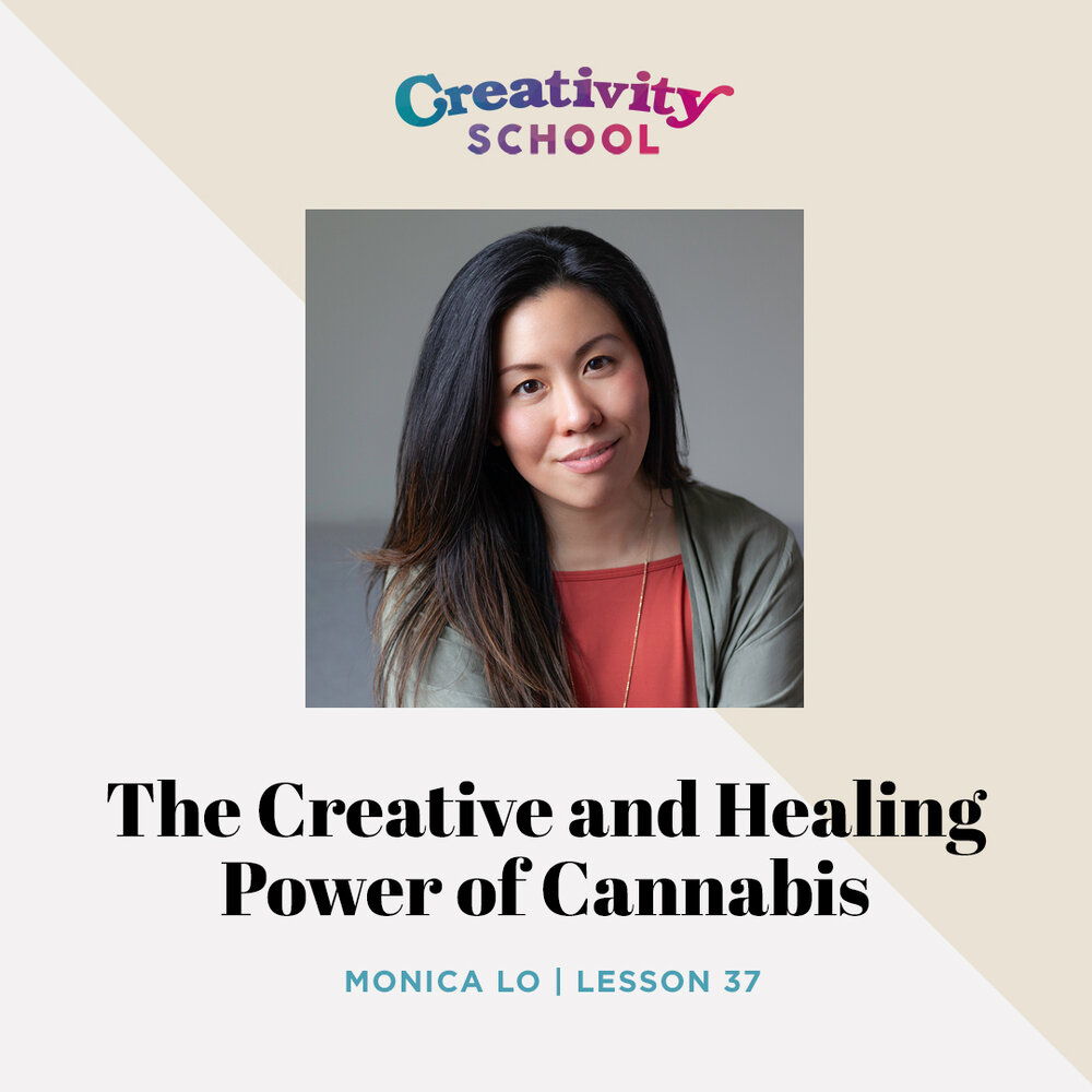Lesson 37 - Monica Lo   How to use cannabis as a wellness tool to maximize your creativity and promote physical, emotional and spiritual healing with photographer and creative director Monica Lo.   September 16th 2019