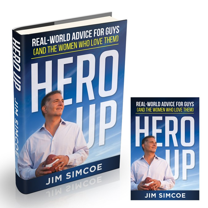 "Grab A Copy of Jim's Book ""Hero Up'"" -"