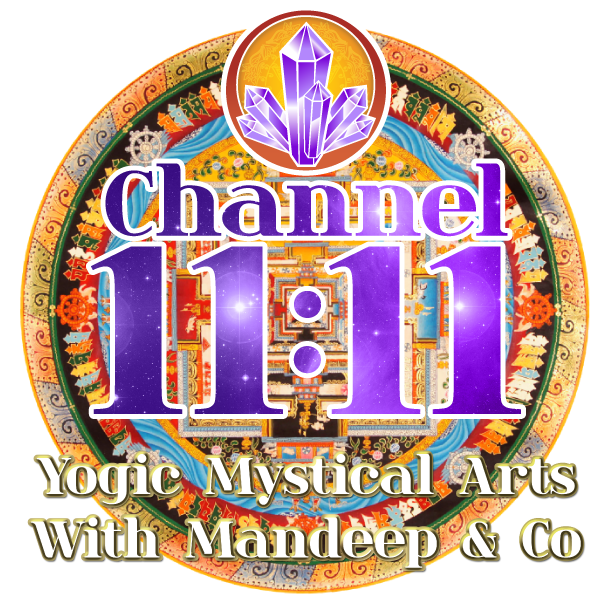 Channel 1111, online, live stream, course, free, trial, mantras, mandeep khalsa, kundalini, mystical arts, classes, trainings, yoga, wellness, akara numerology, healing services, vibrational therapy, sound therapy, las vegas, cedar city, nevada, utah, southwest, studio, new mexico, california, arizona, logo, banner