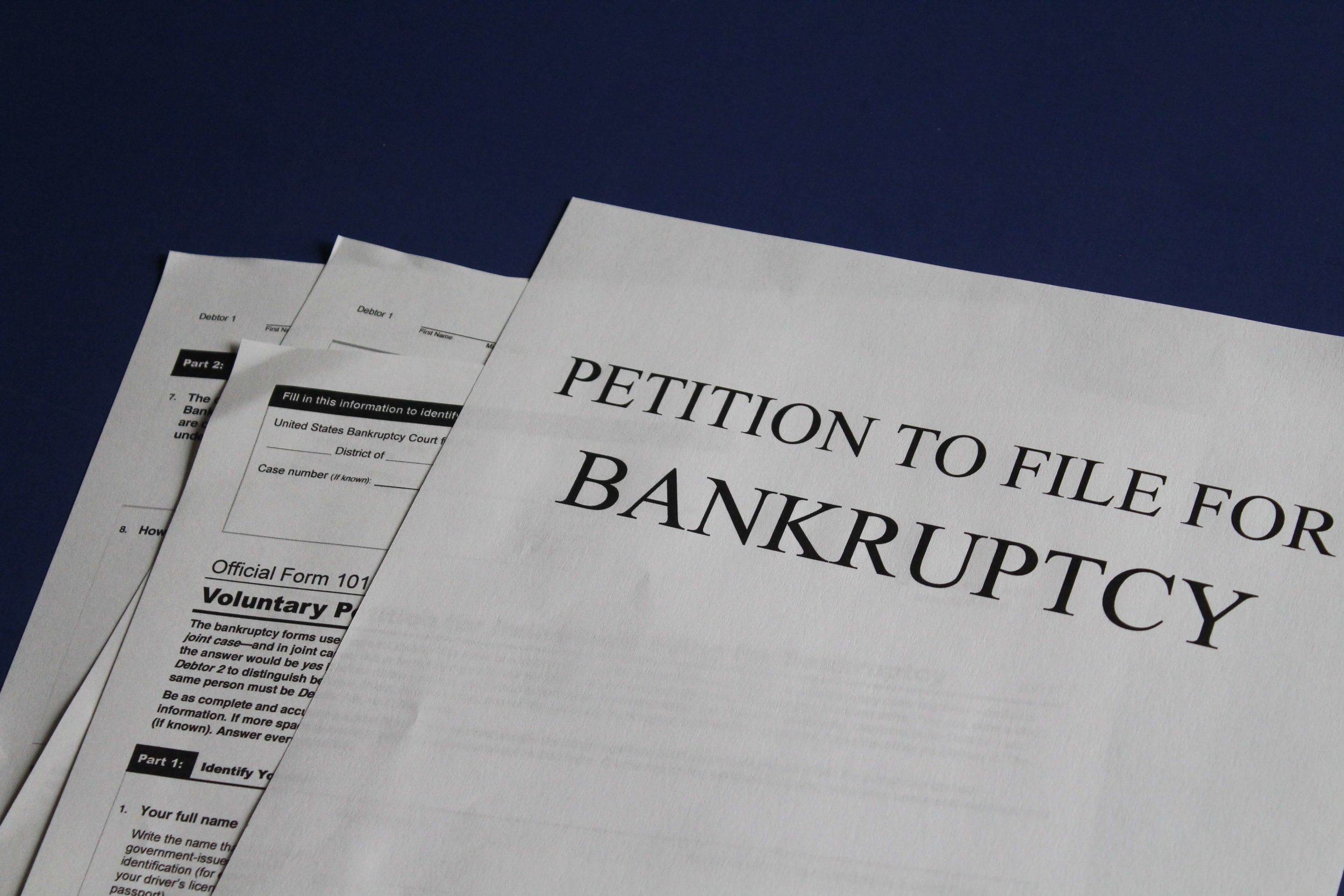 Petition to File Bankrupcy