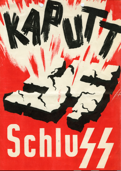 An OSS-produced anti-Nazi propaganda leaflet for Sweden.