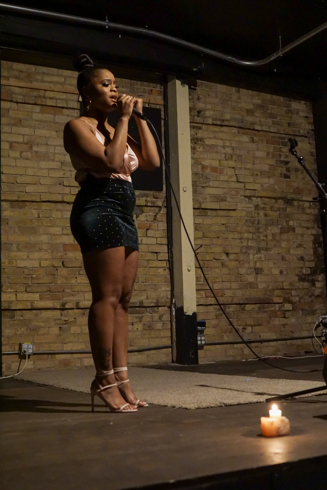 Cariah Brinaé at A Night Over South 2019 photo credit Cornel Beard