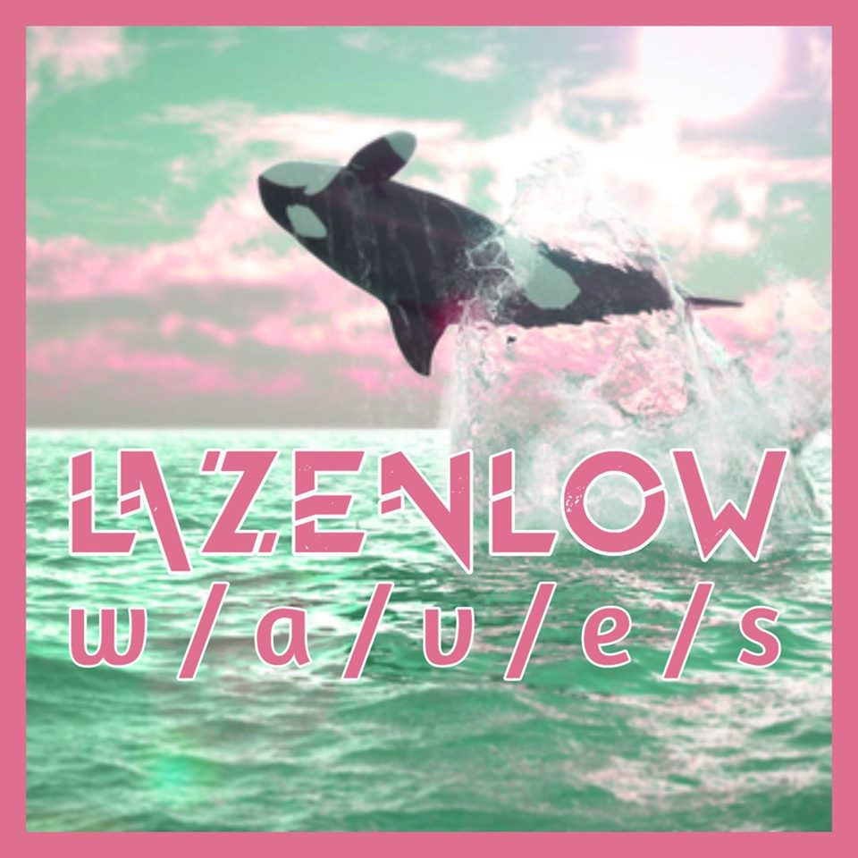 "Cover art for Lazenlow's album ""w/a/v/e/s"""