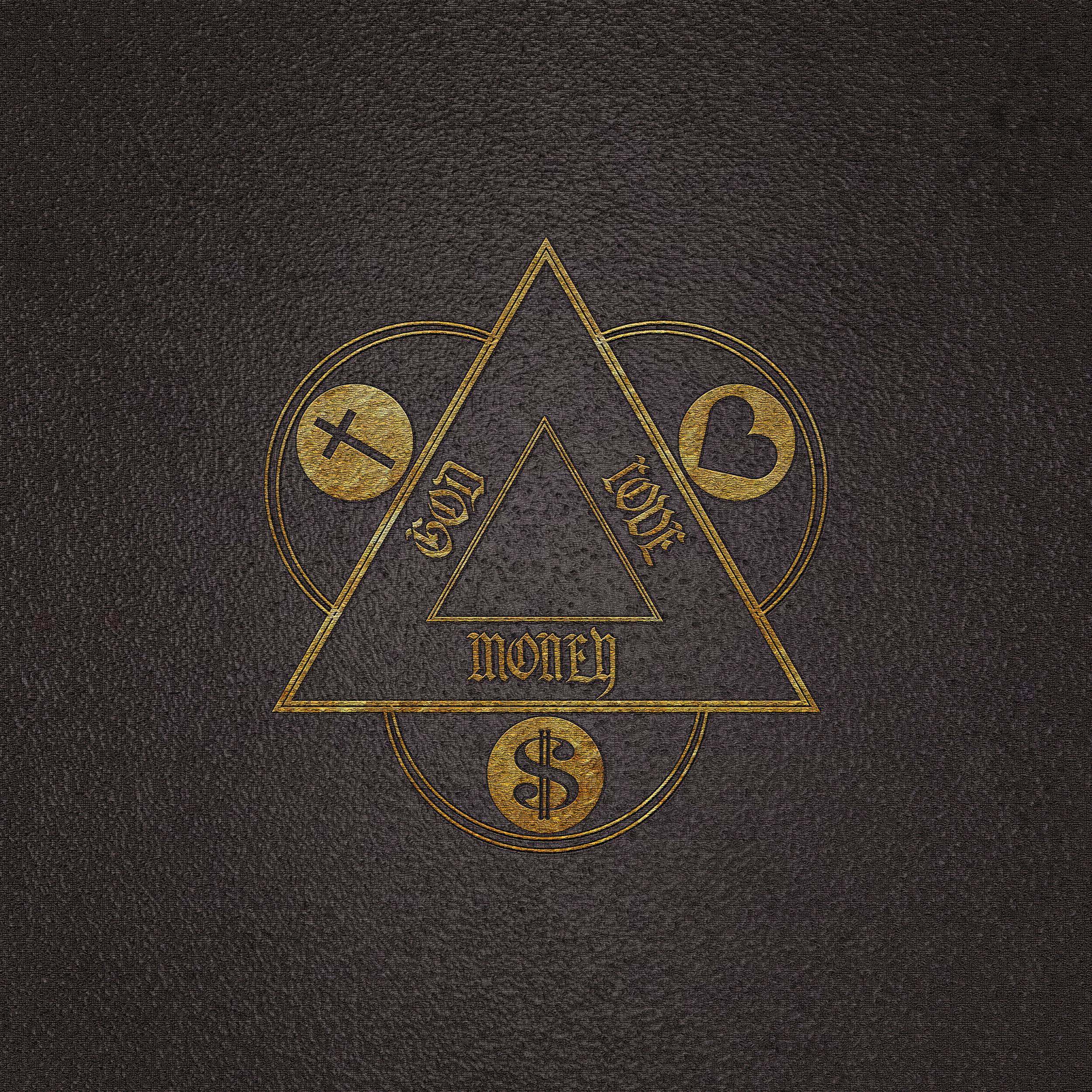 "Album art for Orphan Andy's album ""God Love Money"""