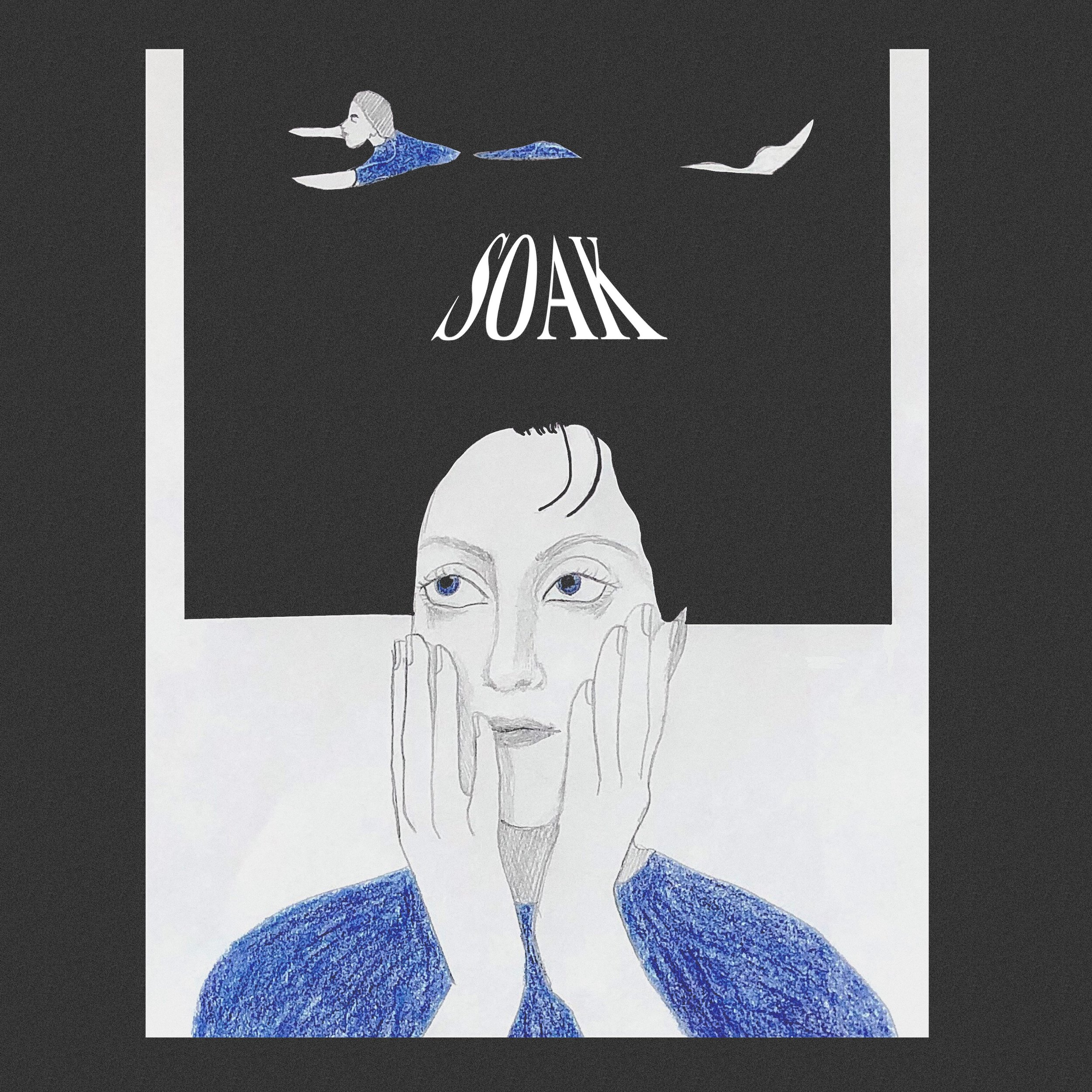 Album art for Kate Malanaphy's Soak by Morgan Peterson.