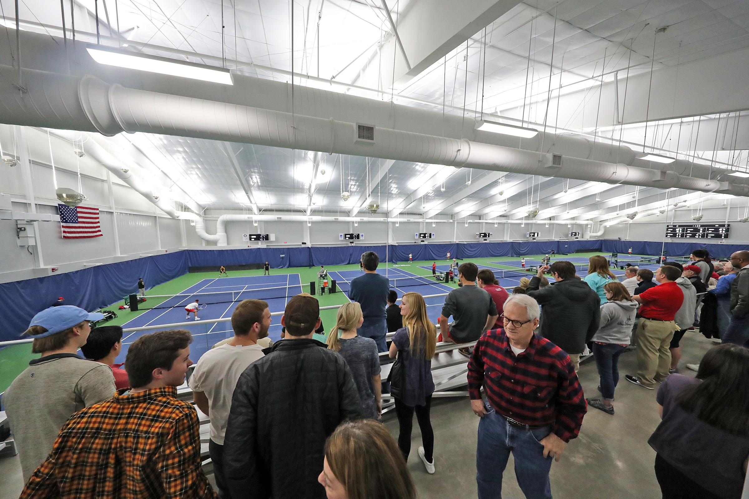UNIVERSITY OF MS - INDOOR TENNIS