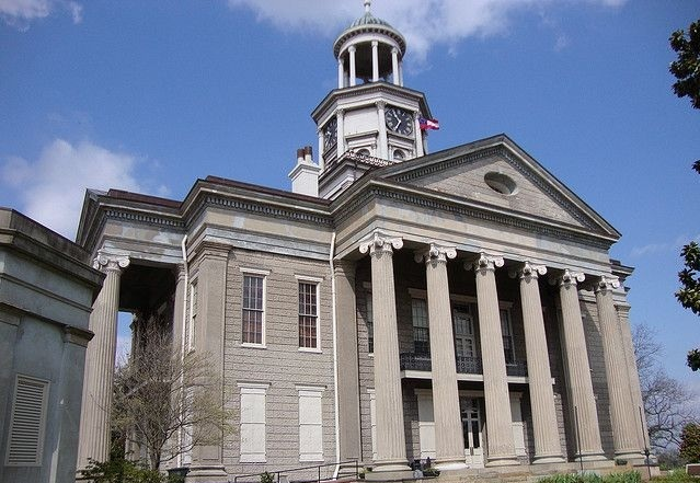 WARREN COUNTY COURTHOUSE - VICKSBURG, MS
