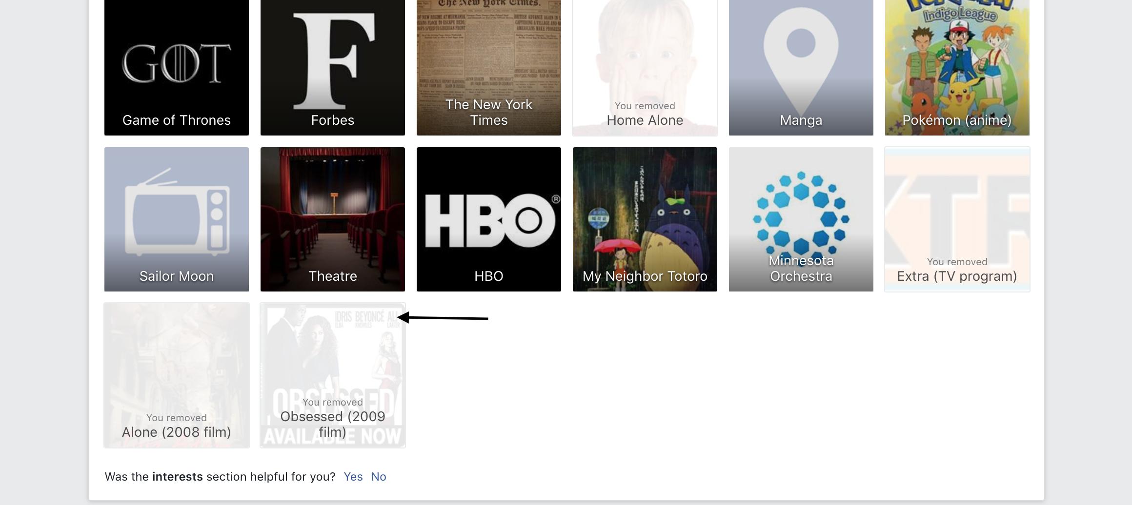 Mange Facebook Ad Preferences