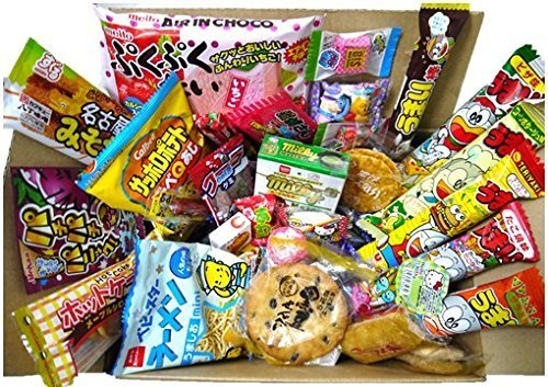 Assorted Japanese Snacks Treats