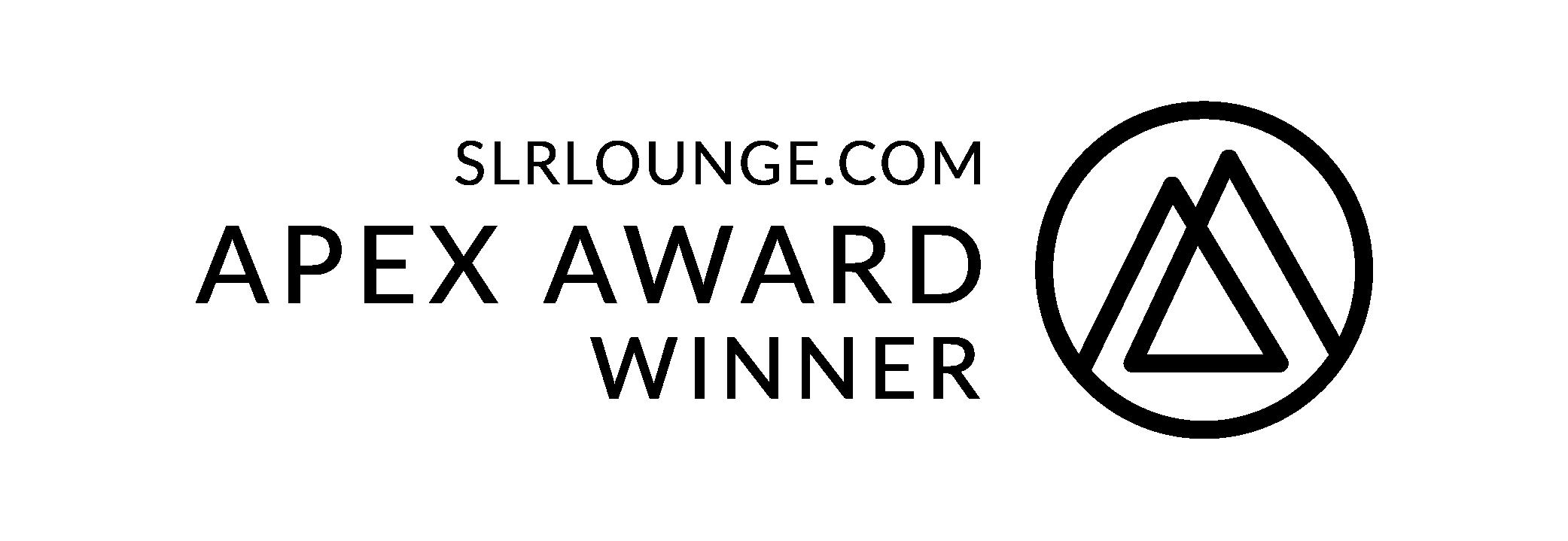SLR Lounge Apex Award Winner