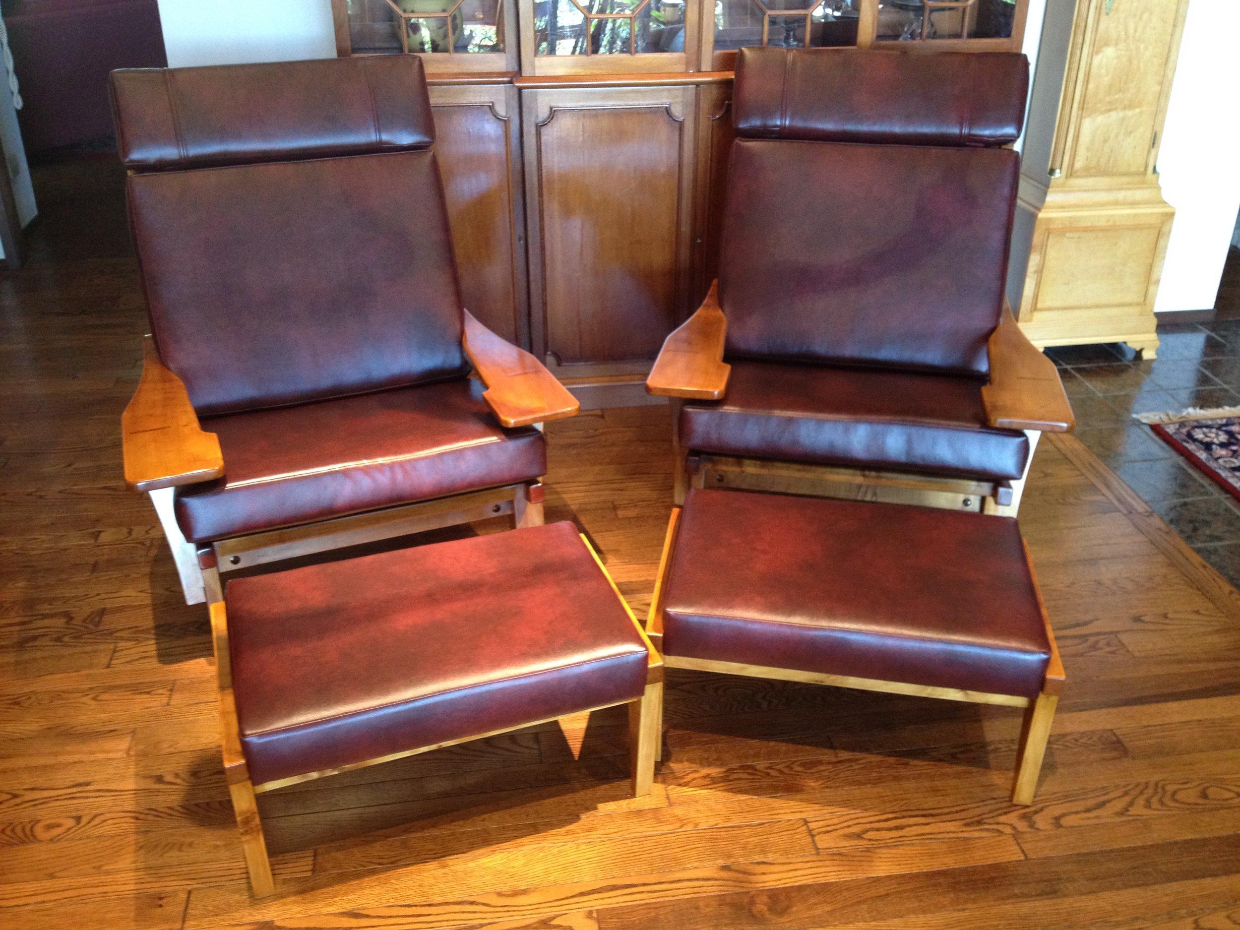 Danish Style Lounge Chairs