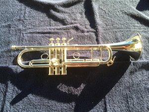 GFT Silver Series NY Narrow B flat Trumpet