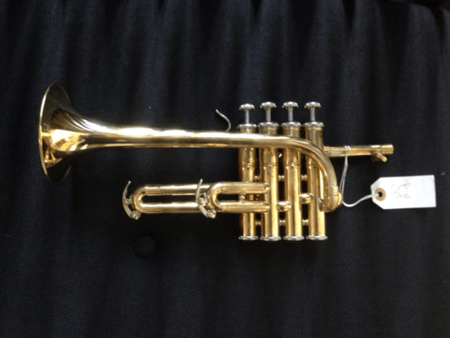 GFT Piccolo  Bb/A Raw Brass