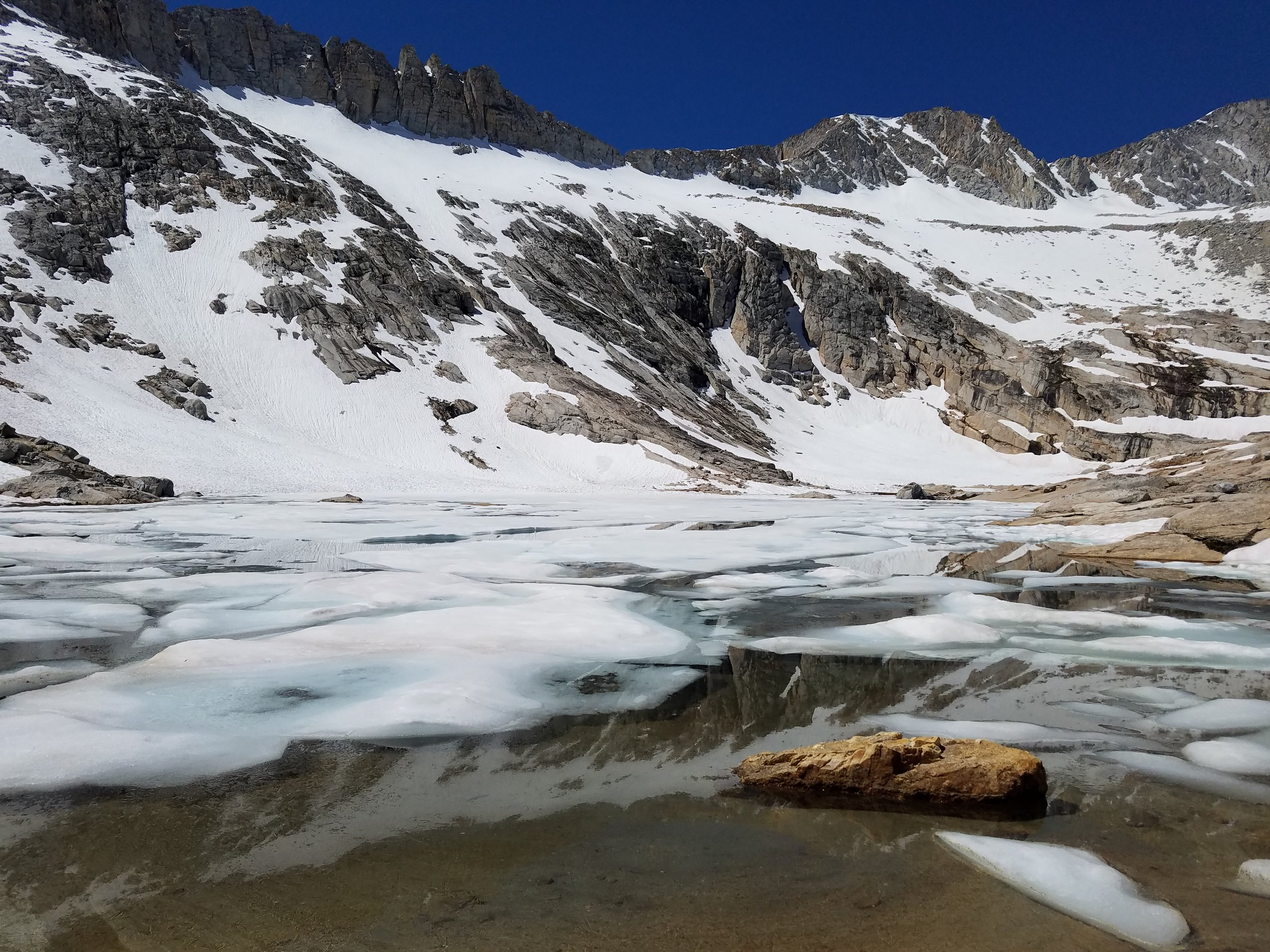 Saddlebag Lakes-  Directions: Take Highway 120, Tioga Pass Road, about 12 miles from the junction of Highway 395 to Saddlebag Lake Road. Follow the road for approximately three miles to the lake.