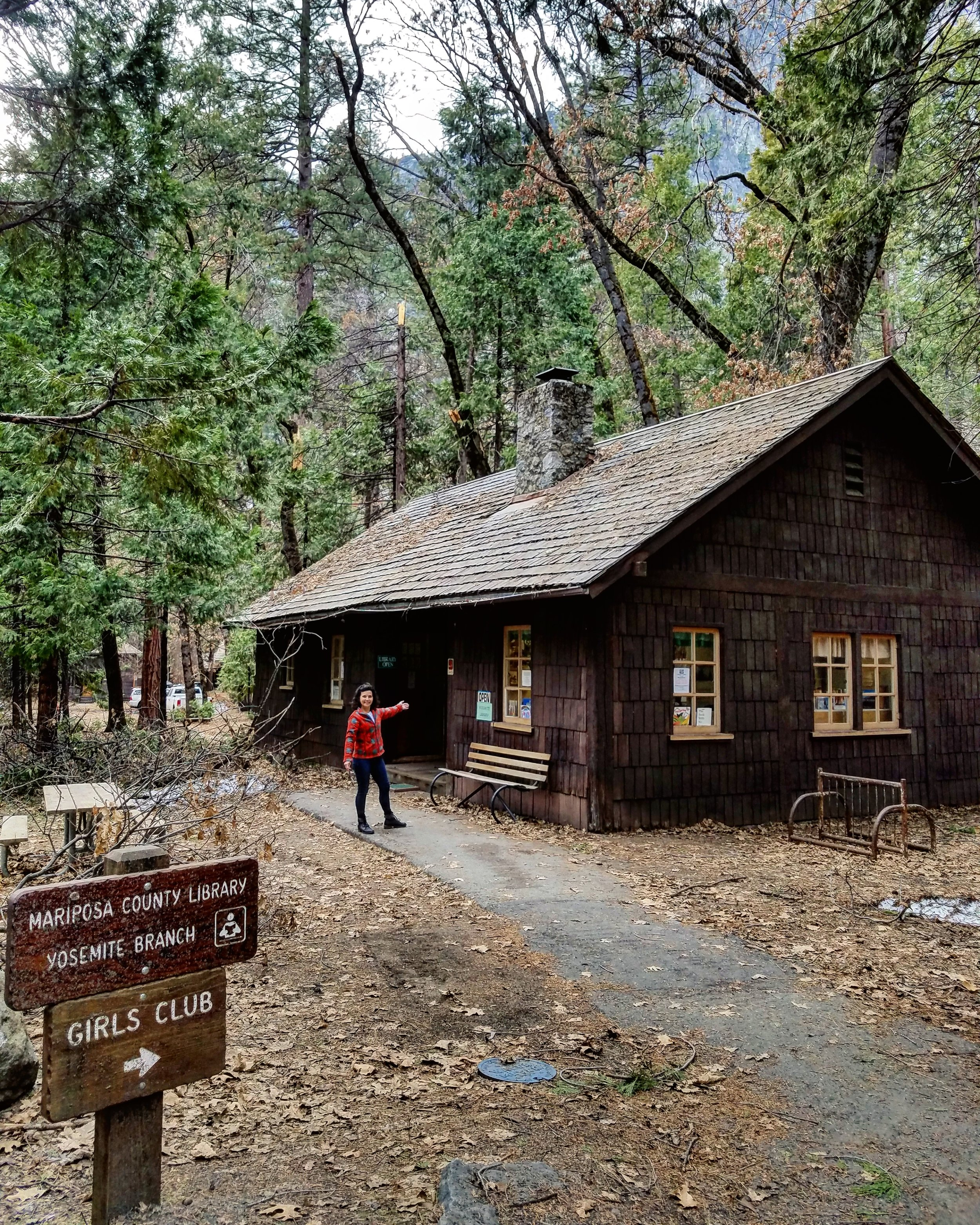 Yosemite Valley Library and Girls Club