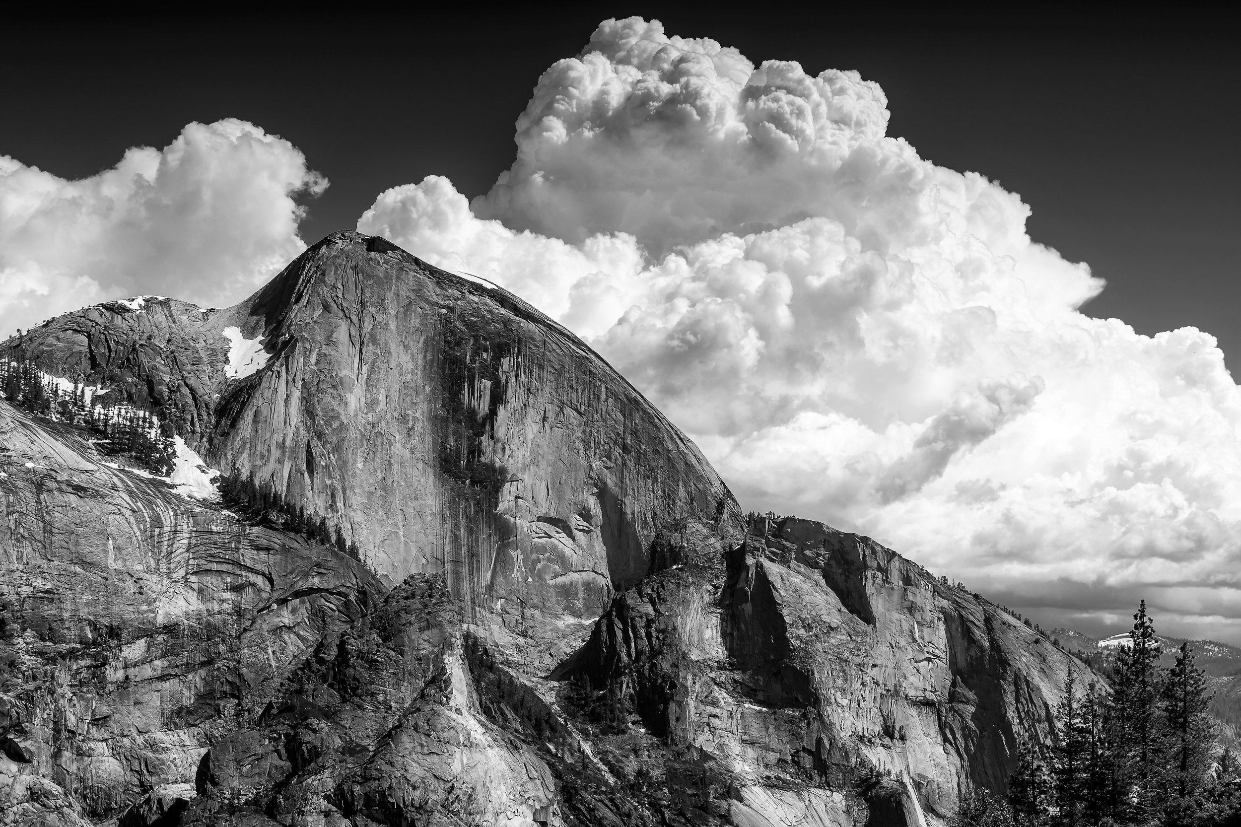 By: H. Kajitani aka Kaji  Title: Afternoon Half Dome Style: Photography  Summary: View of Half Dome from Snow Creek Trail in Summer afternoon  To view more of Kaji's photography you can visit  https://www.viewbug.com/member/hkphotography