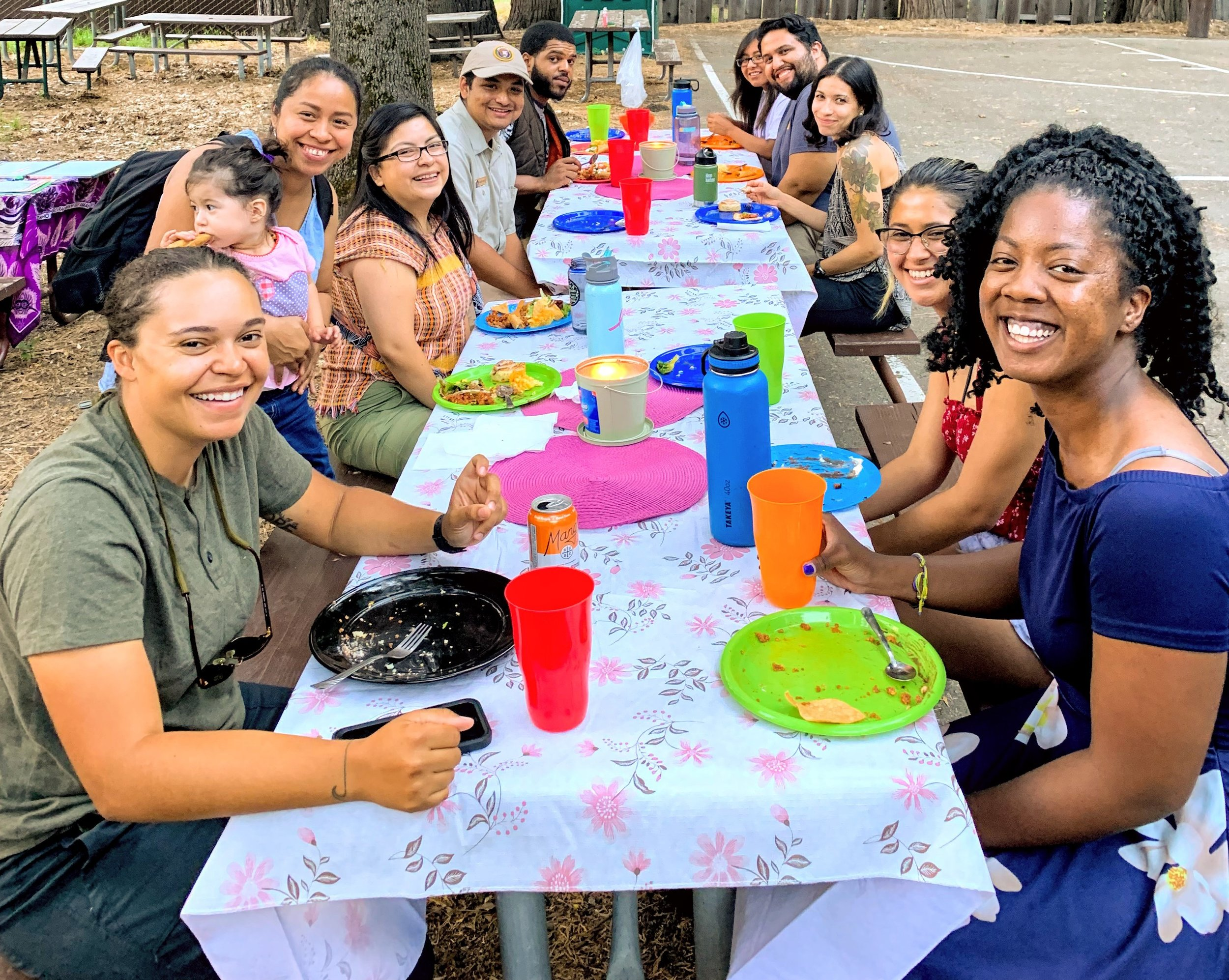 Photo of first BIPOC Meet-Up on July 2019