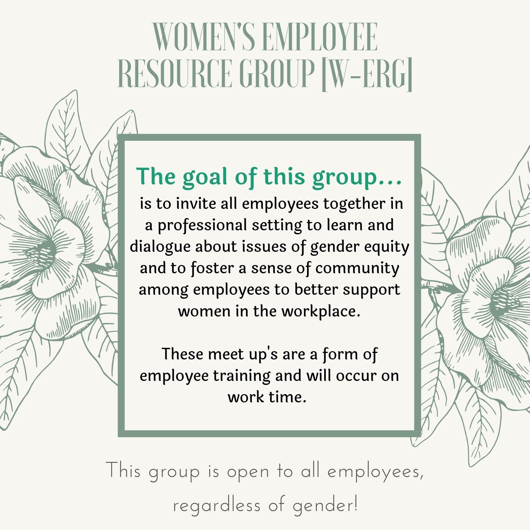 Women's Resource Group Meetup September 2019