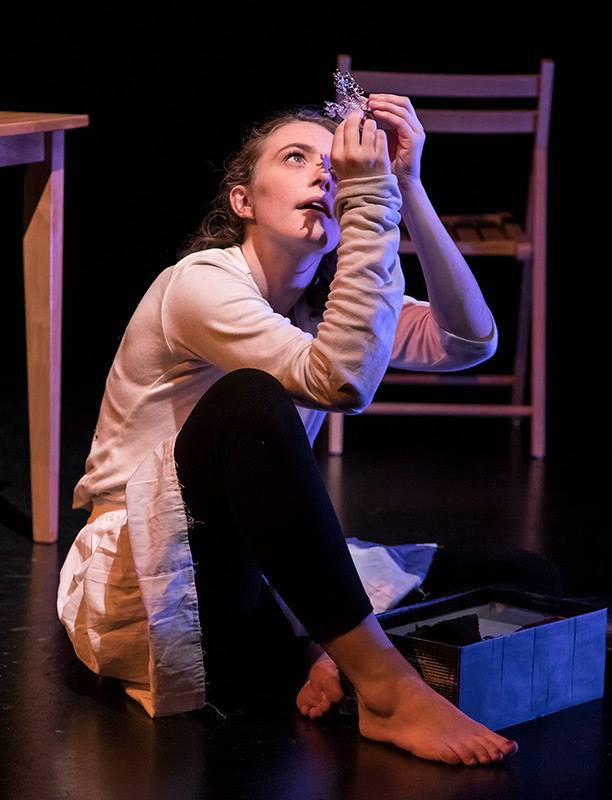"Laura in ""The Glass Menagerie"""