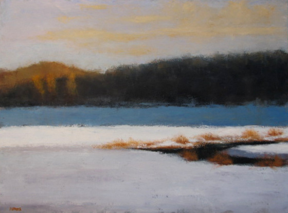 Snowfield at River's Bend