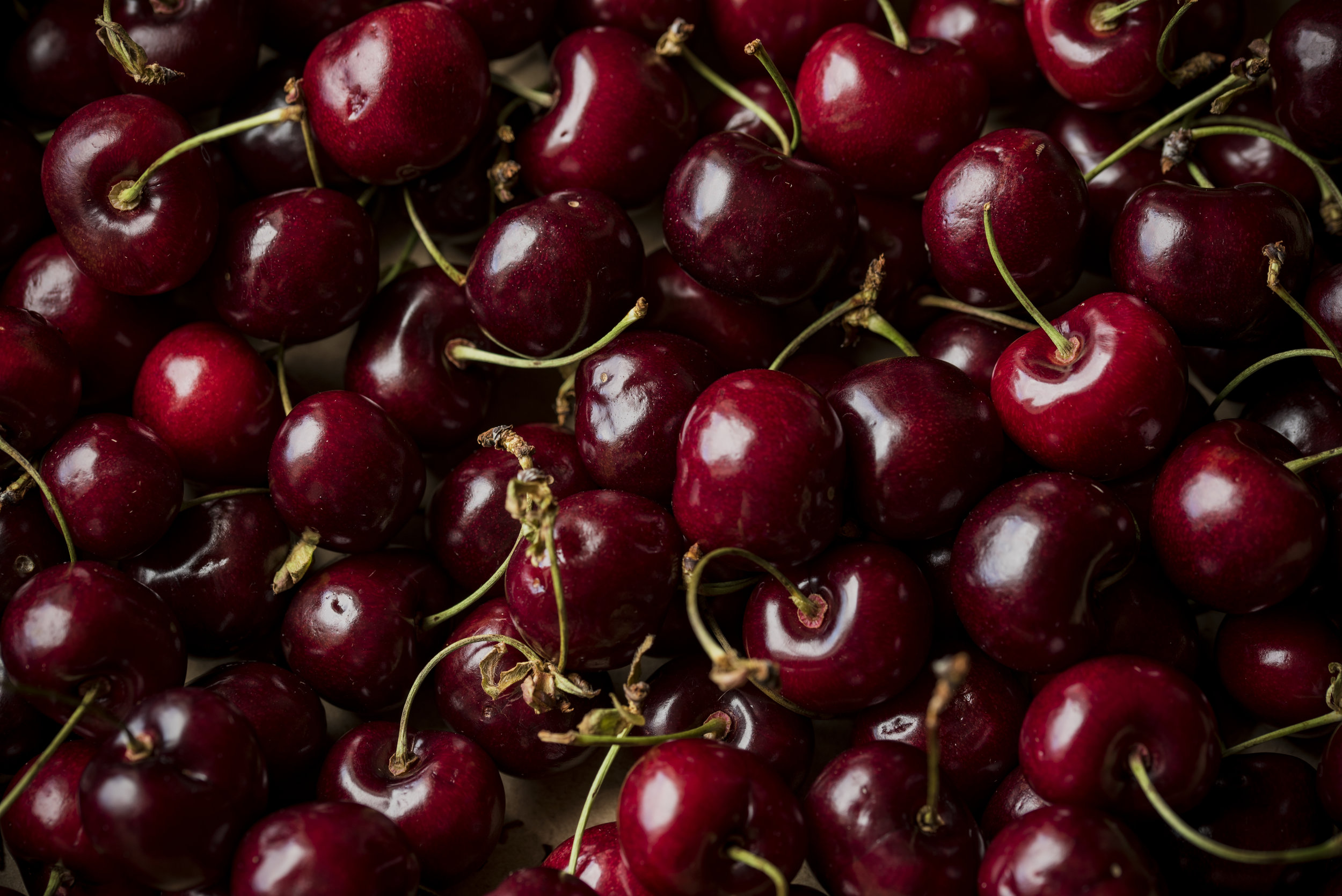 cherries - An average of five pesticides were detected on conventional cherries.30 percent of cherry samples contained iprodione, a pesticide not allowed in Europe, which may cause cancer.