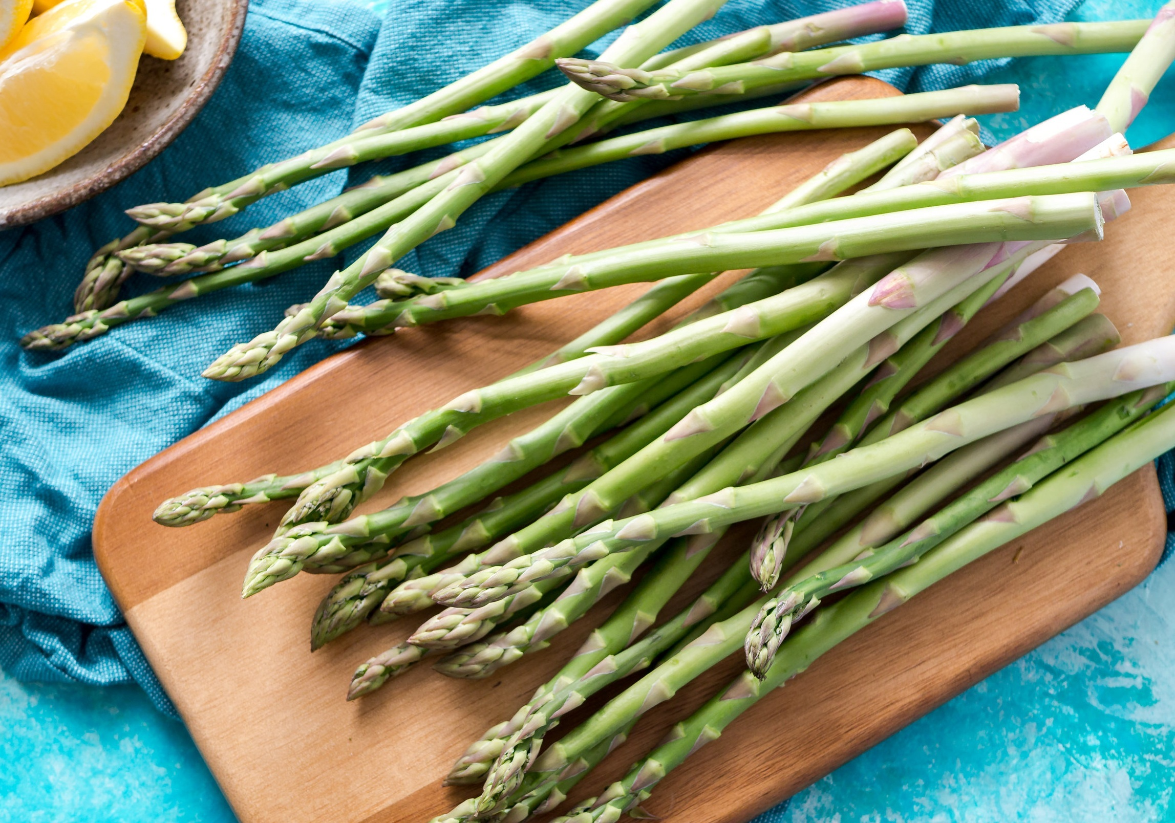 asparagus - 90 percent of conventional asparagus samples had no detectable pesticide residues.No more than three pesticides were detected on any conventional asparagus sample.