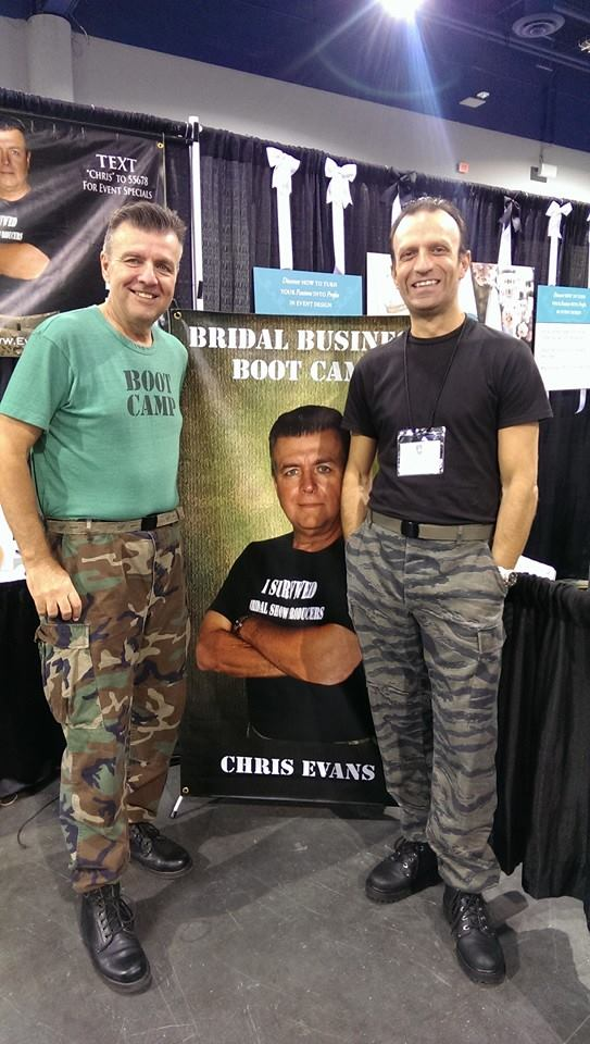Monday, April 29, 2019Chris EvansFounder of the Bridal Business Bootcamp - Diving into the technique of FAB-ing. Strengthening your business sales method by showcasing the Features, Advantages and Benefits of your company. Chris Evans, Author of How to Double Your Wedding Business in the Next 12 Months tackles the challenging task of representing and selling your business to help you build and grow!