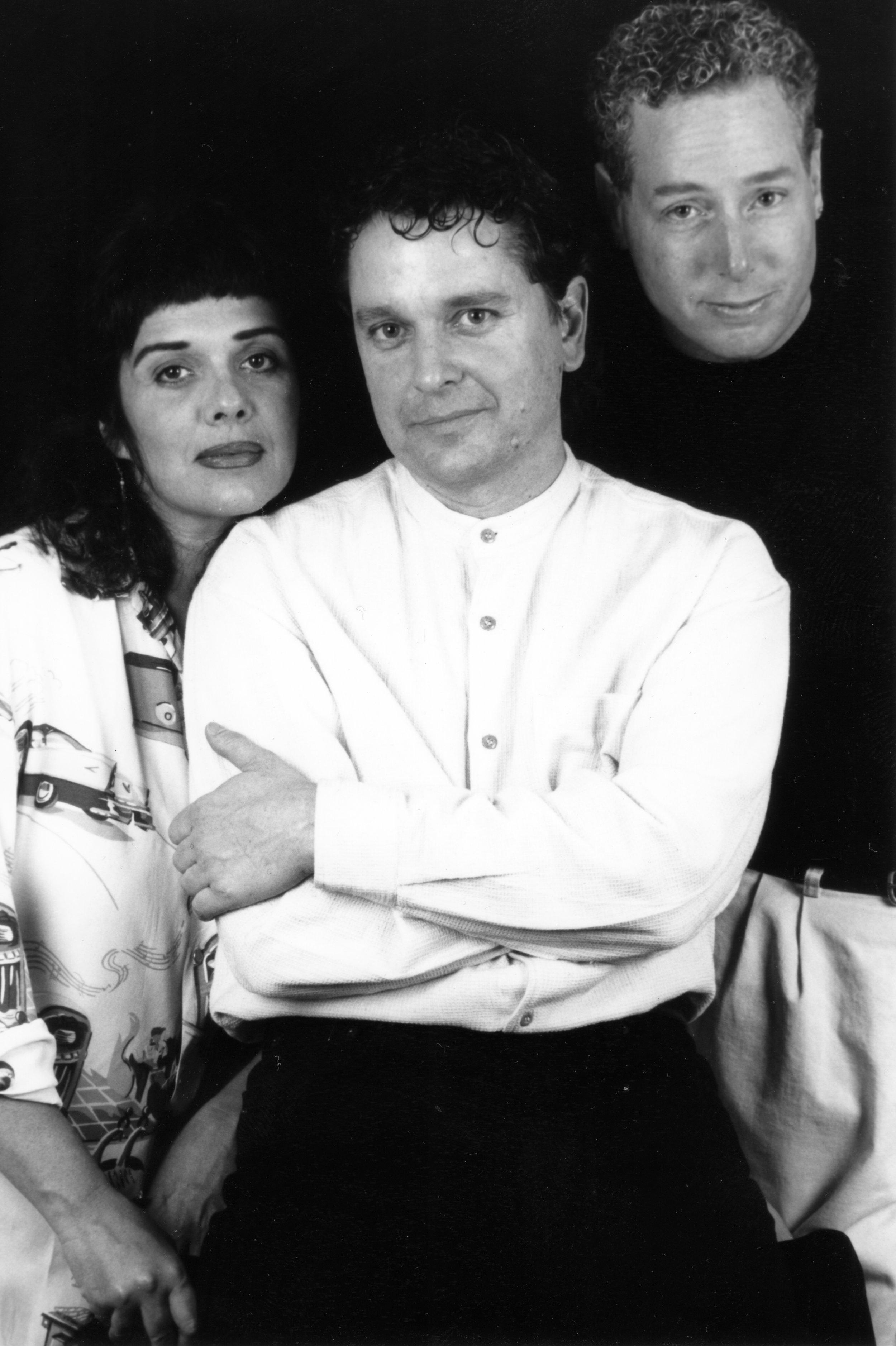 Maria Marquez, Frank Harris and Dann Zinn