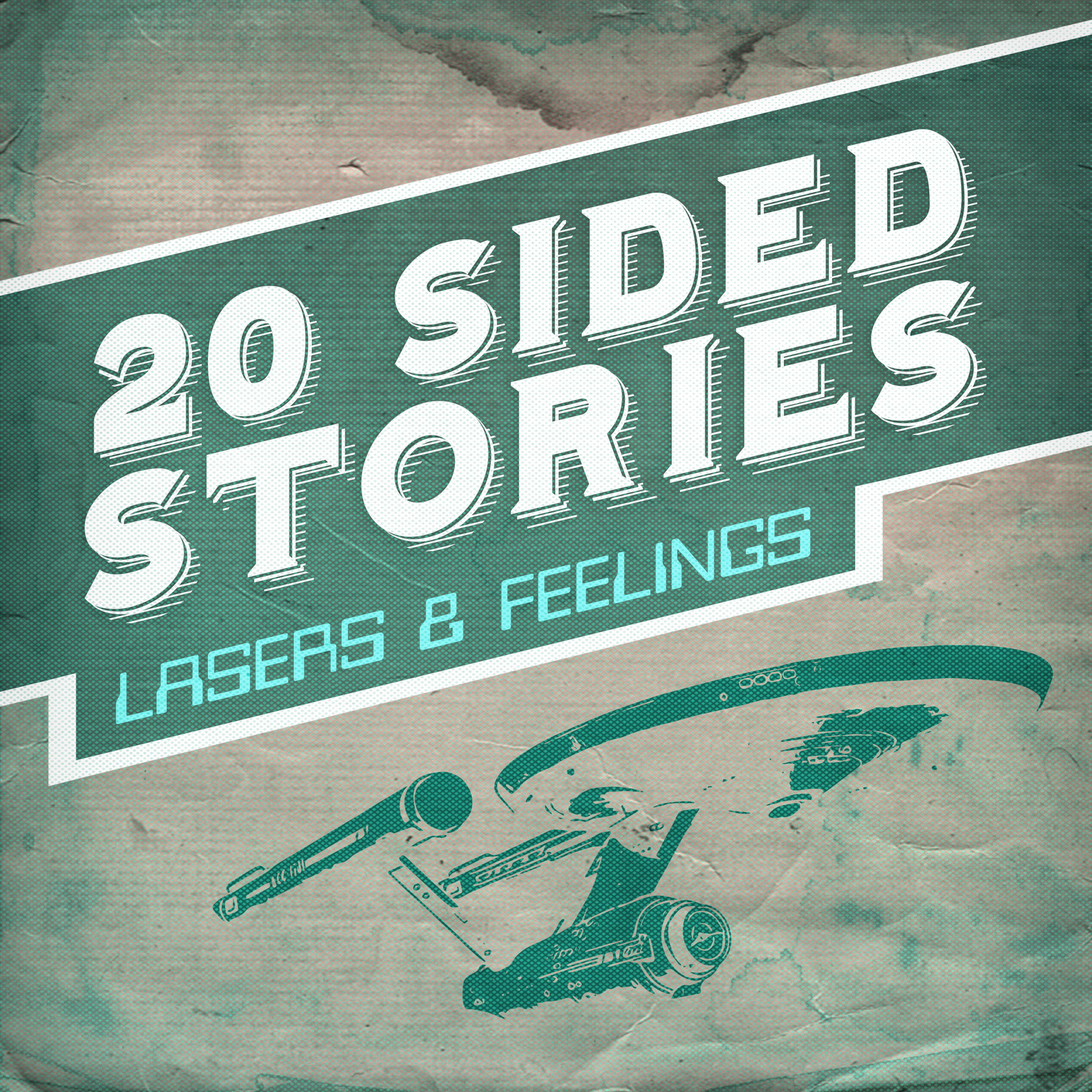 Lasers & Feelings cover art, featuring a space ship