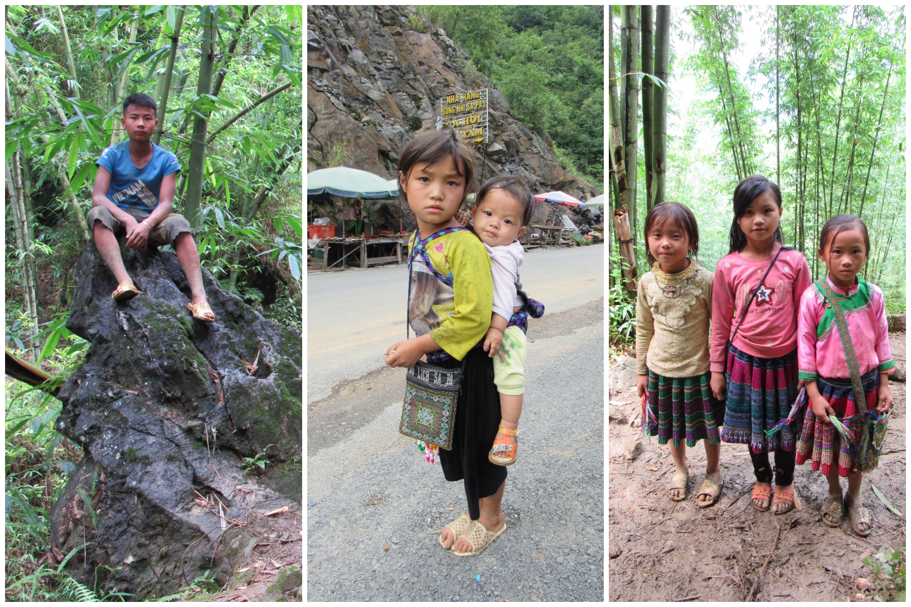 Hmong children of Sa Pa