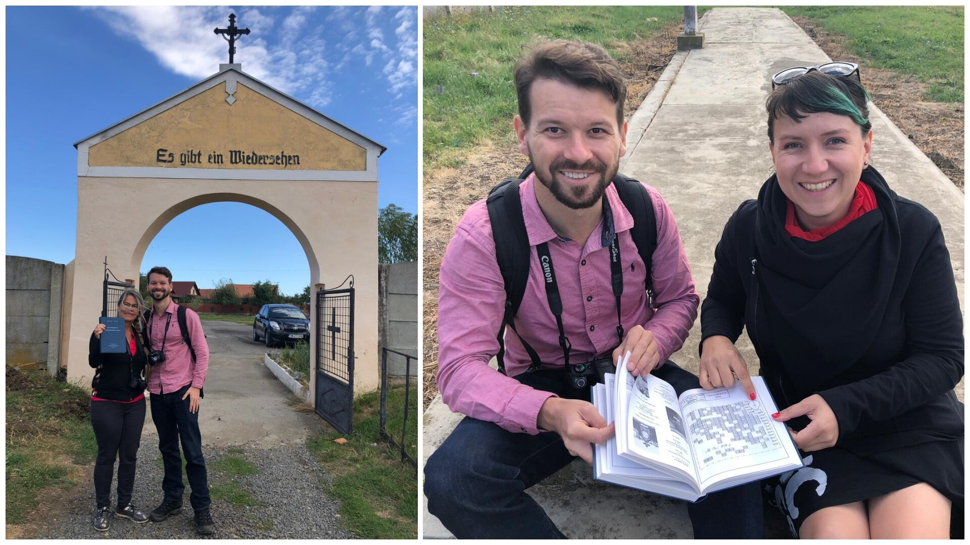 Christine and the catalogue of gravestones; searching for grave locations with Alexandra