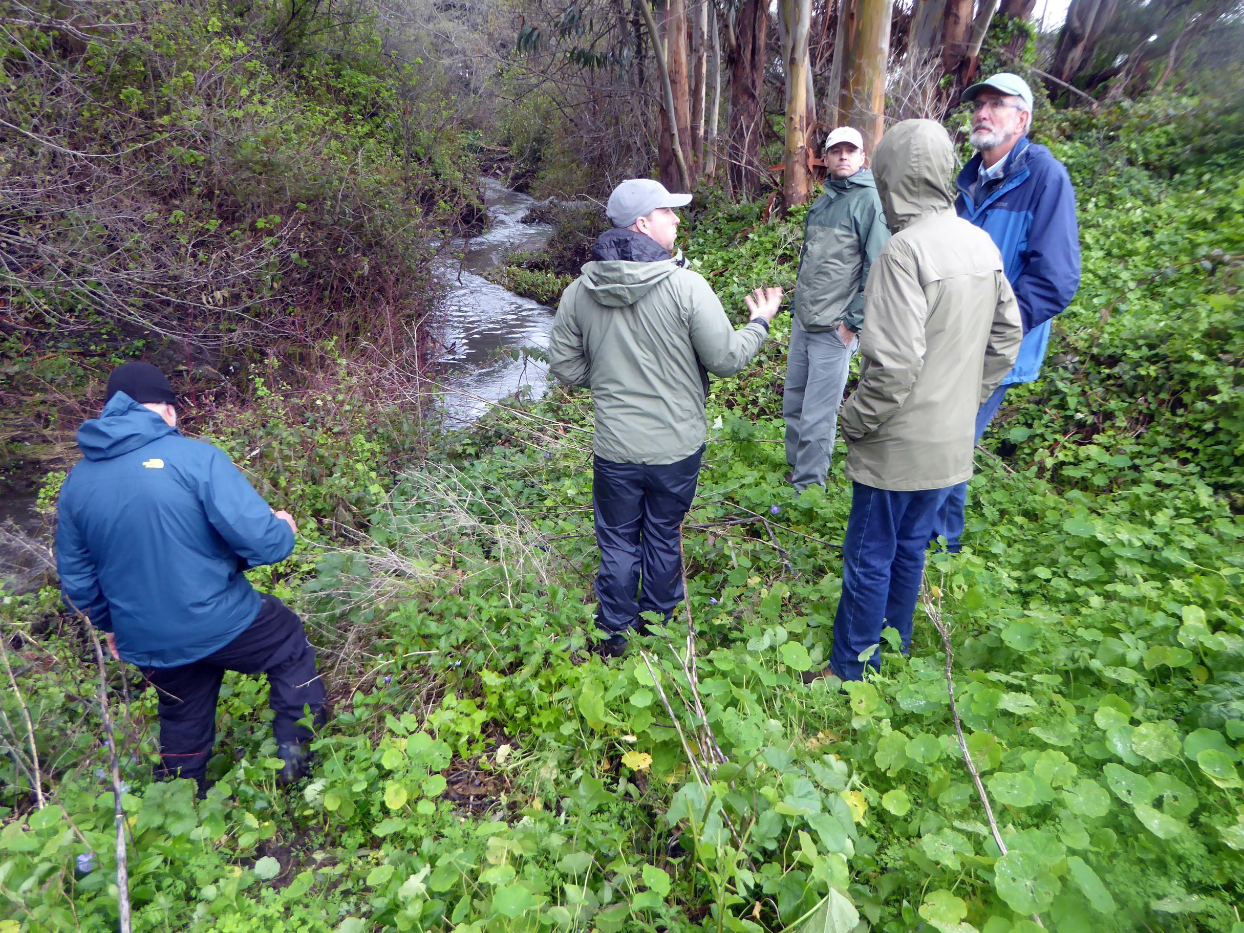 SPC 0132 Main  Stem 2-26-19 Creek walk w-NOAA & CA Trout SLWalker P1190021.jpg