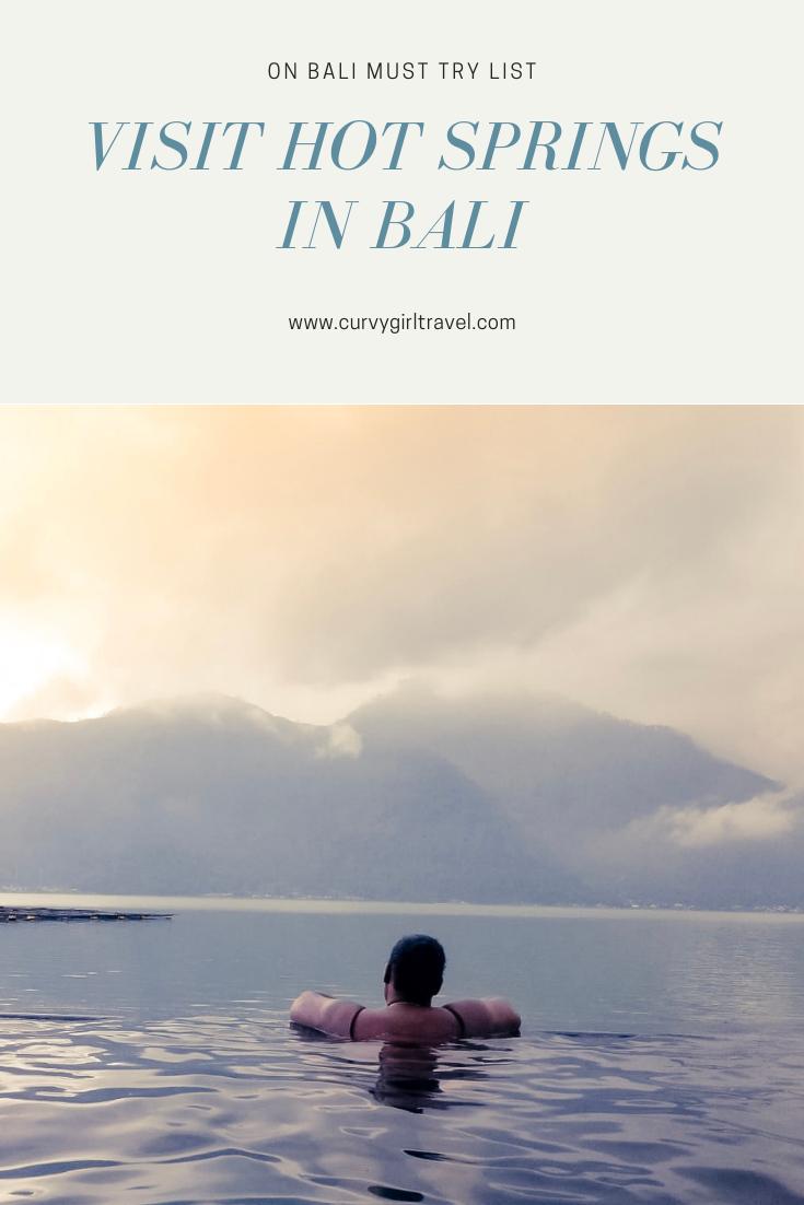 bali hot springs
