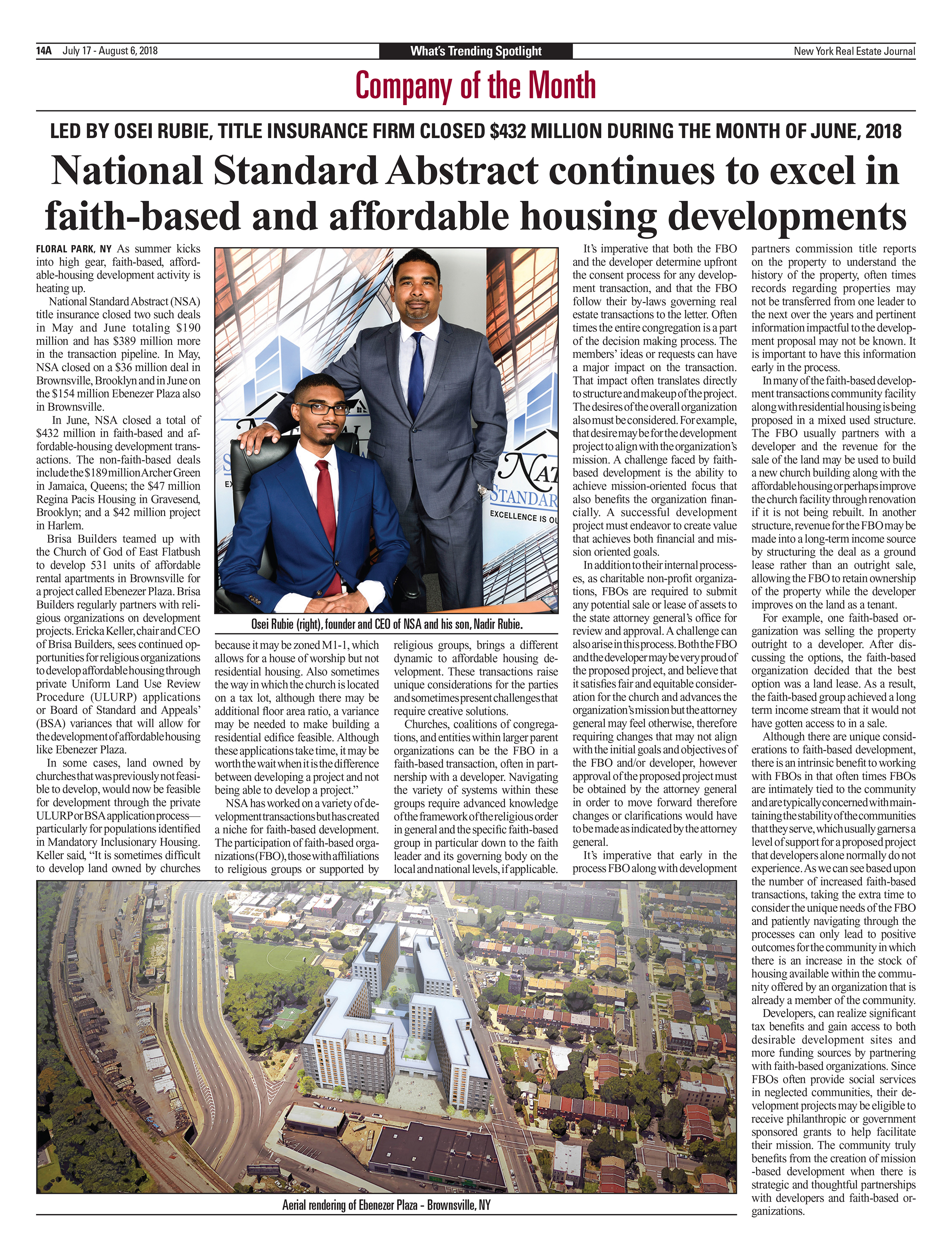 Cover Story Article July 19th 2018 NYREJ.jpg