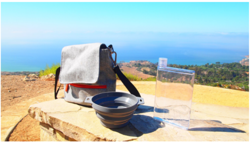 Loved using the bag for our hike! And oh what a view!