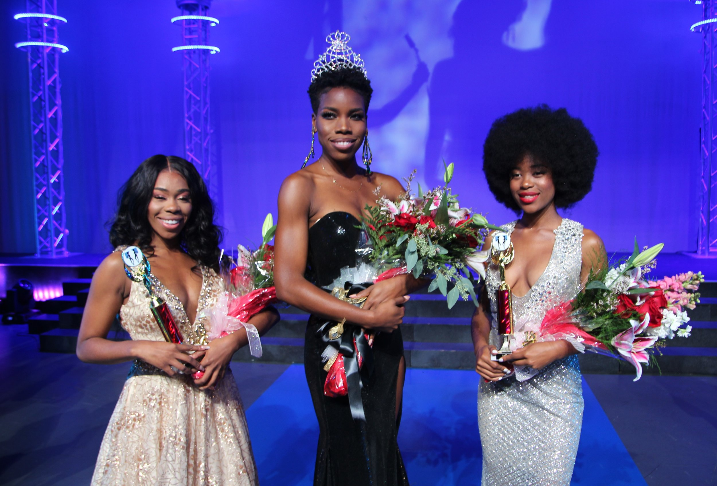 Miss Black America 2018 Runners Up and WInner Ryan Richardson wearing ASE Beauty Lipstick