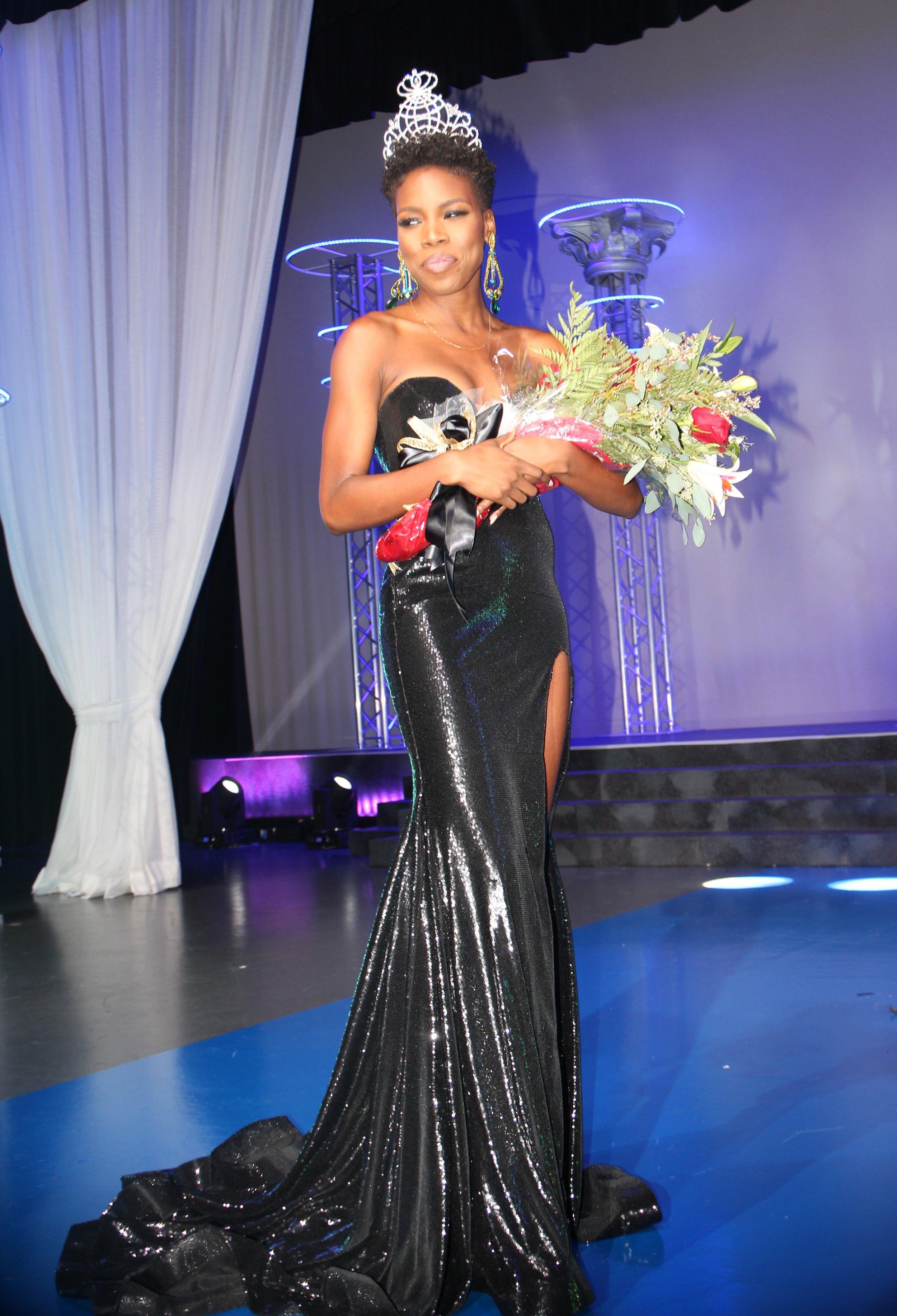 Miss Black America 2018 Winner-Ryan Richardson wearing ASE Beauty Lipstick