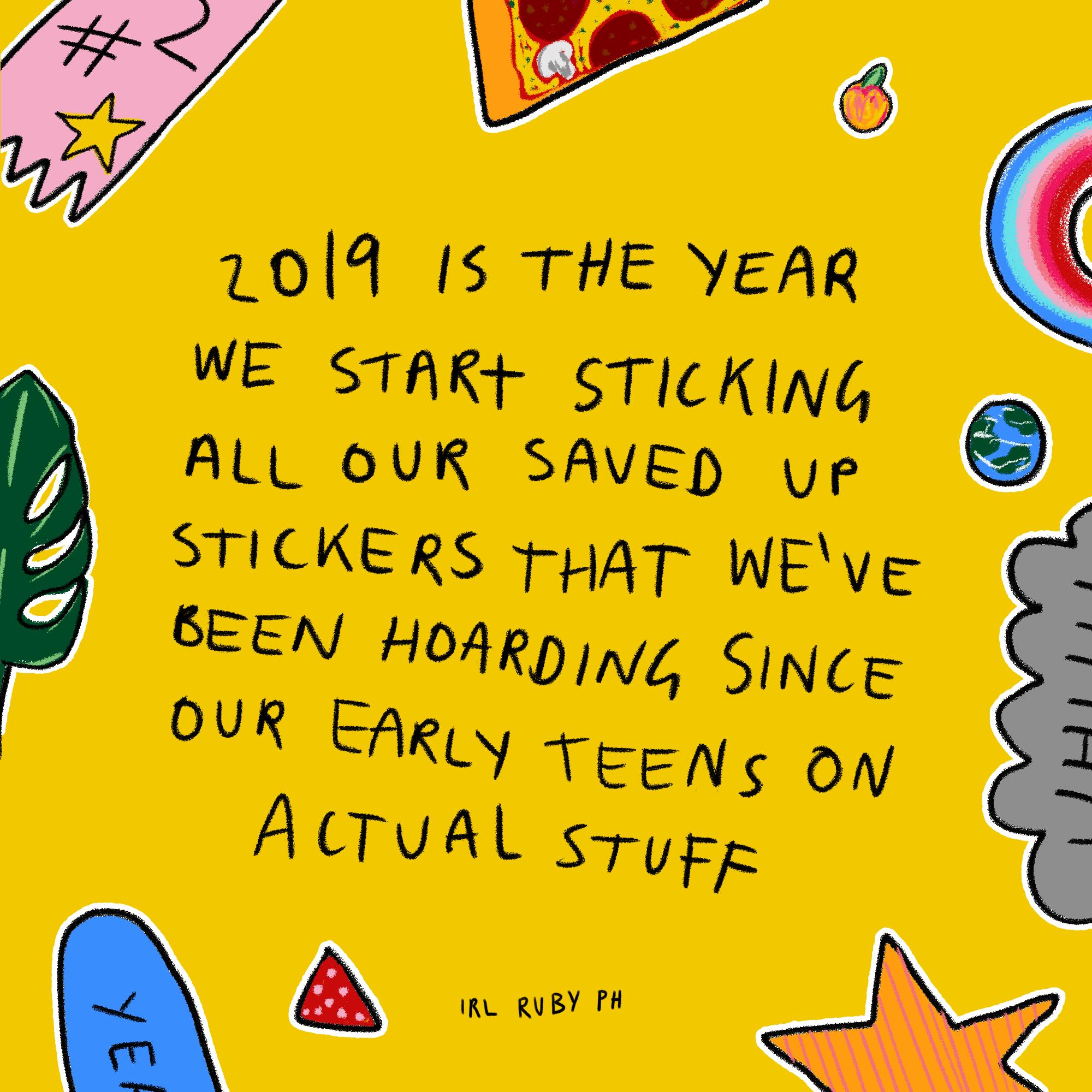 Sticker Hoarder - 2019