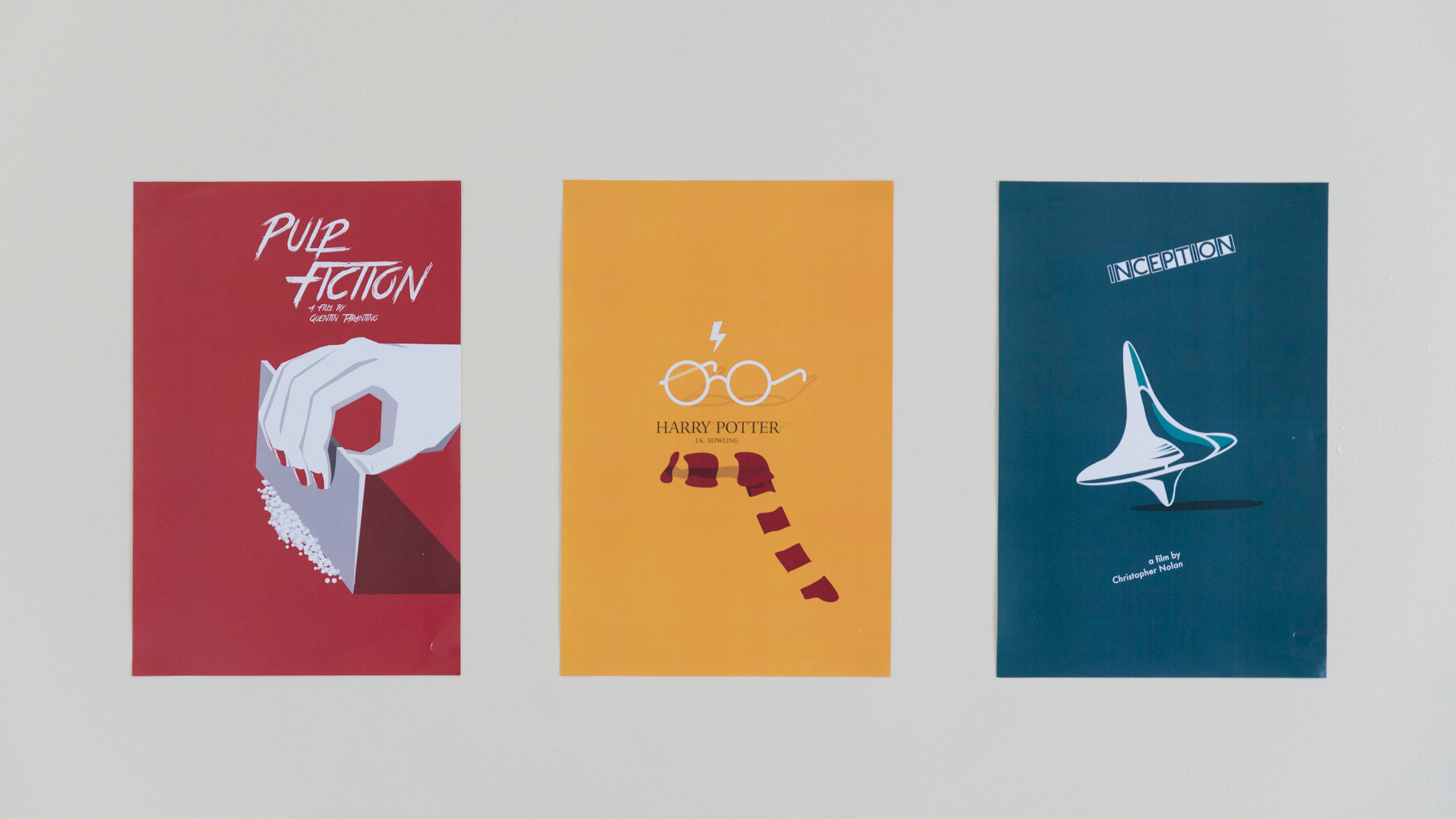 Movie Postersre-design - Digital Illustration