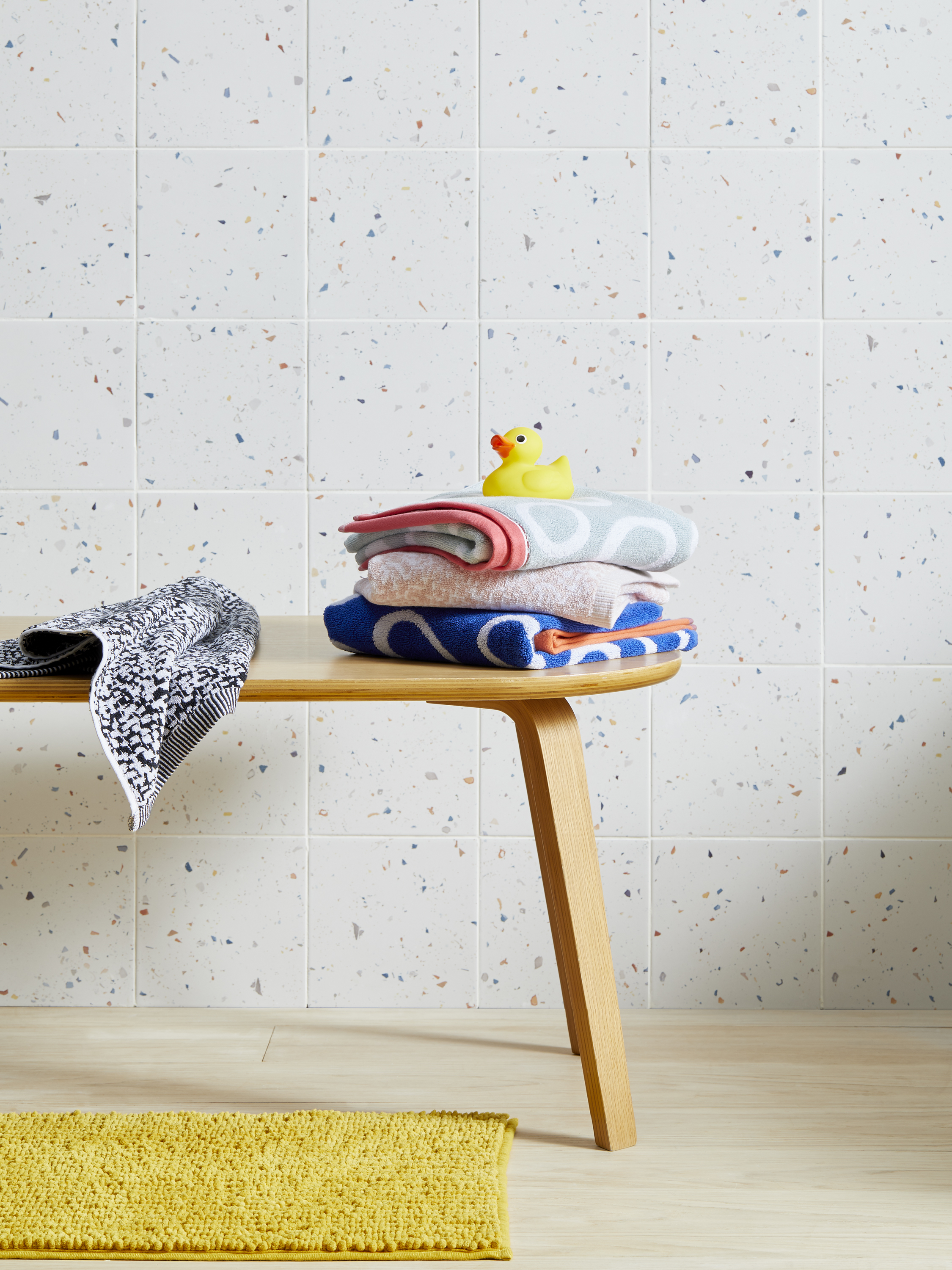 John Lewis Photo Shoot… - Our Colour Drops range of tiles were selected for this John Lewis room set in 2018.