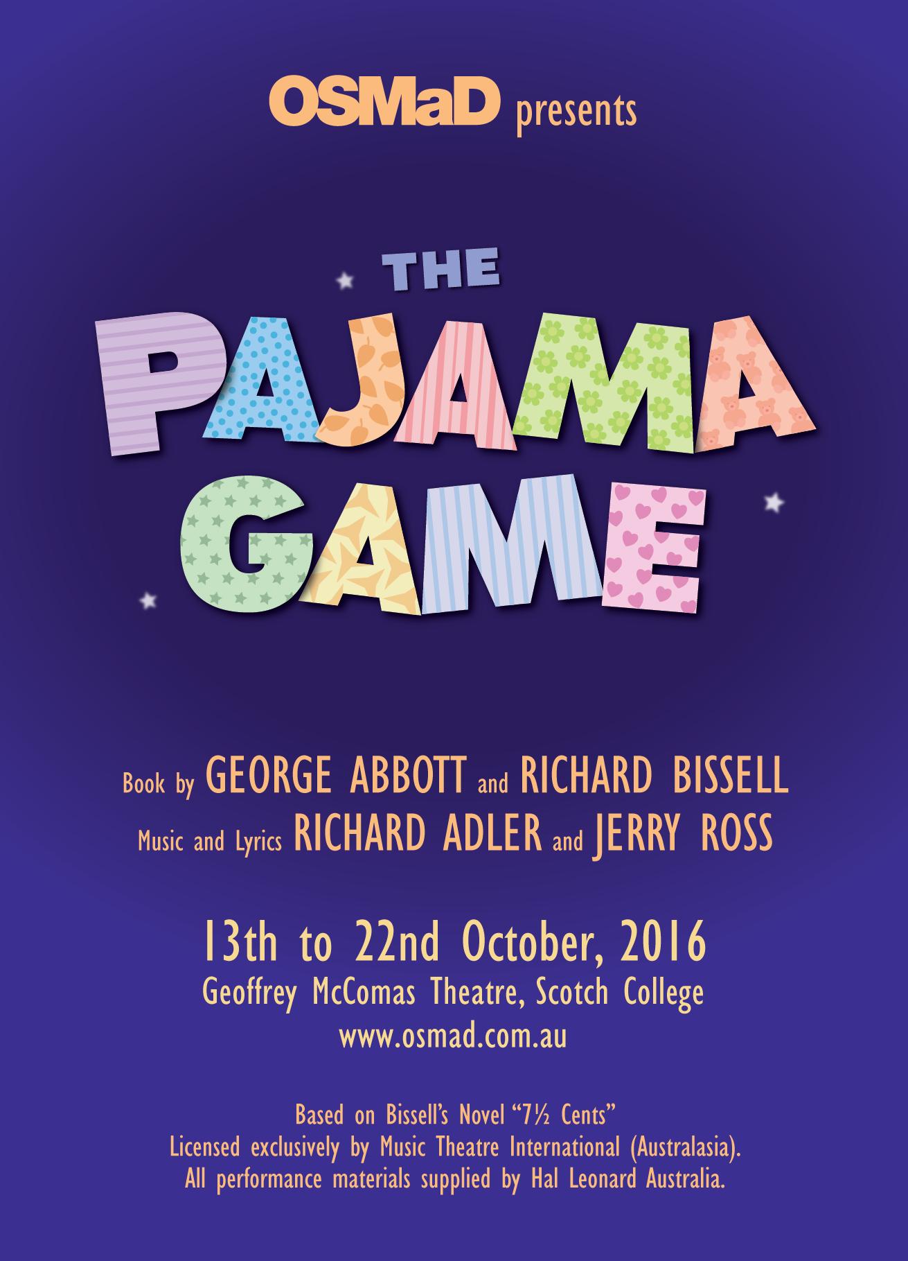 The Pajama Game 2016
